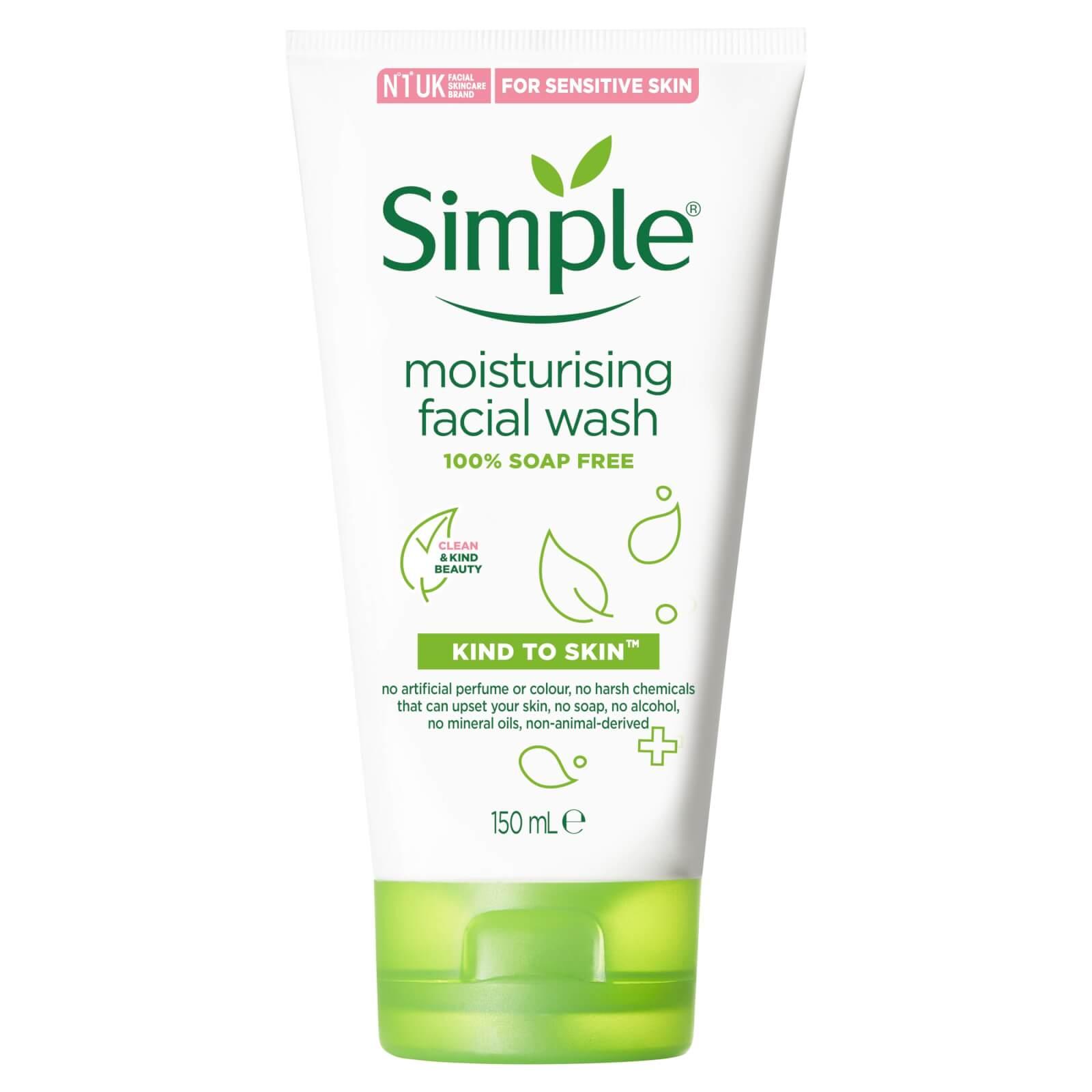Simple Moist Foam Face Wash 150ml