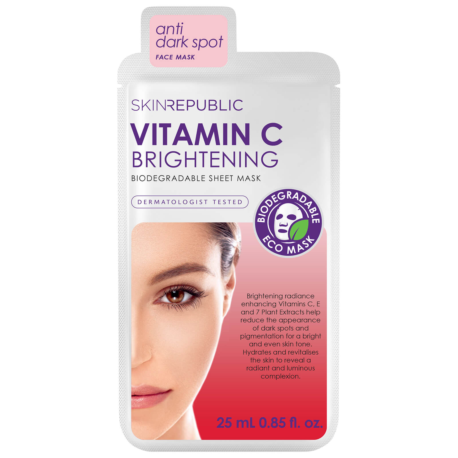 Click to view product details and reviews for Skin Republic Brightening Vitamin C Face Mask 25ml.