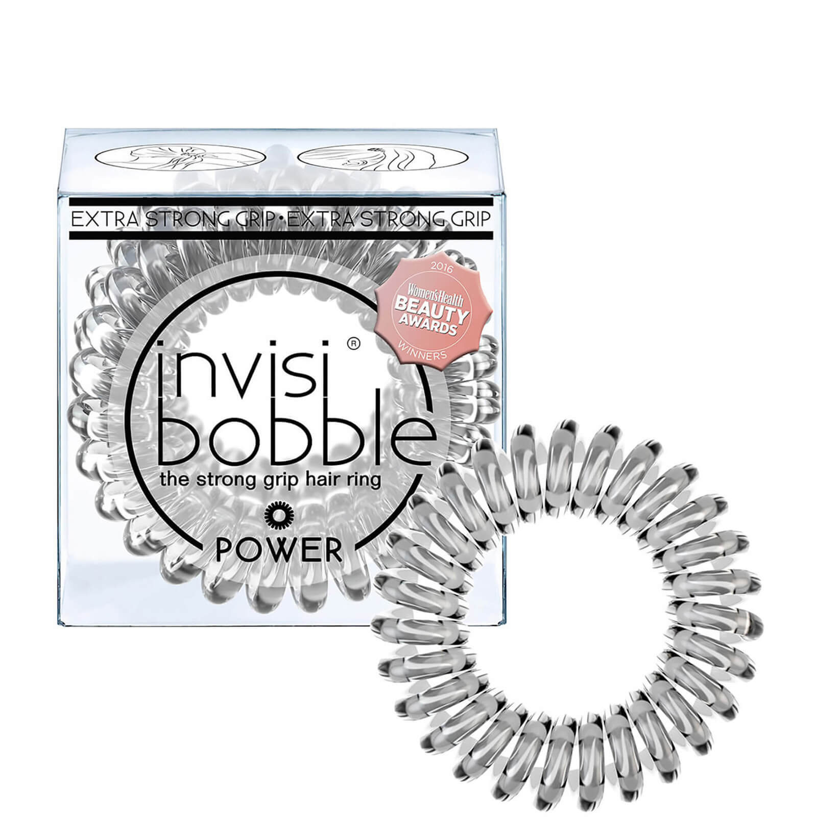 Купить Резинка для волос invisibobble Power(3 шт. в упаковке) – Crystal Clear