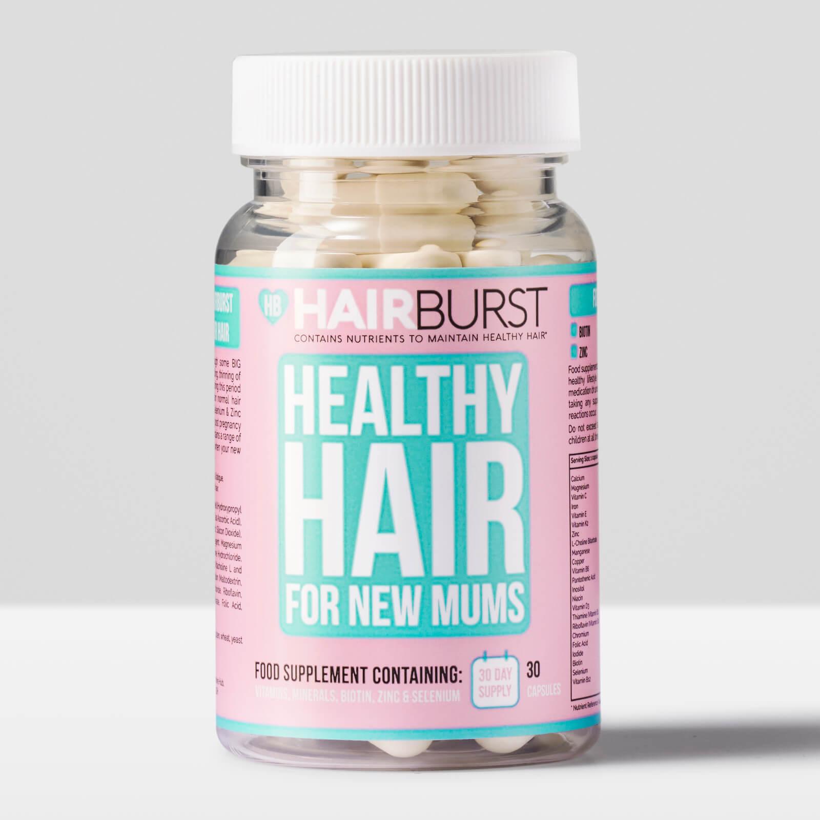 Vitamines pour les Nouvelles Mamans Hairburst- 30 capsules
