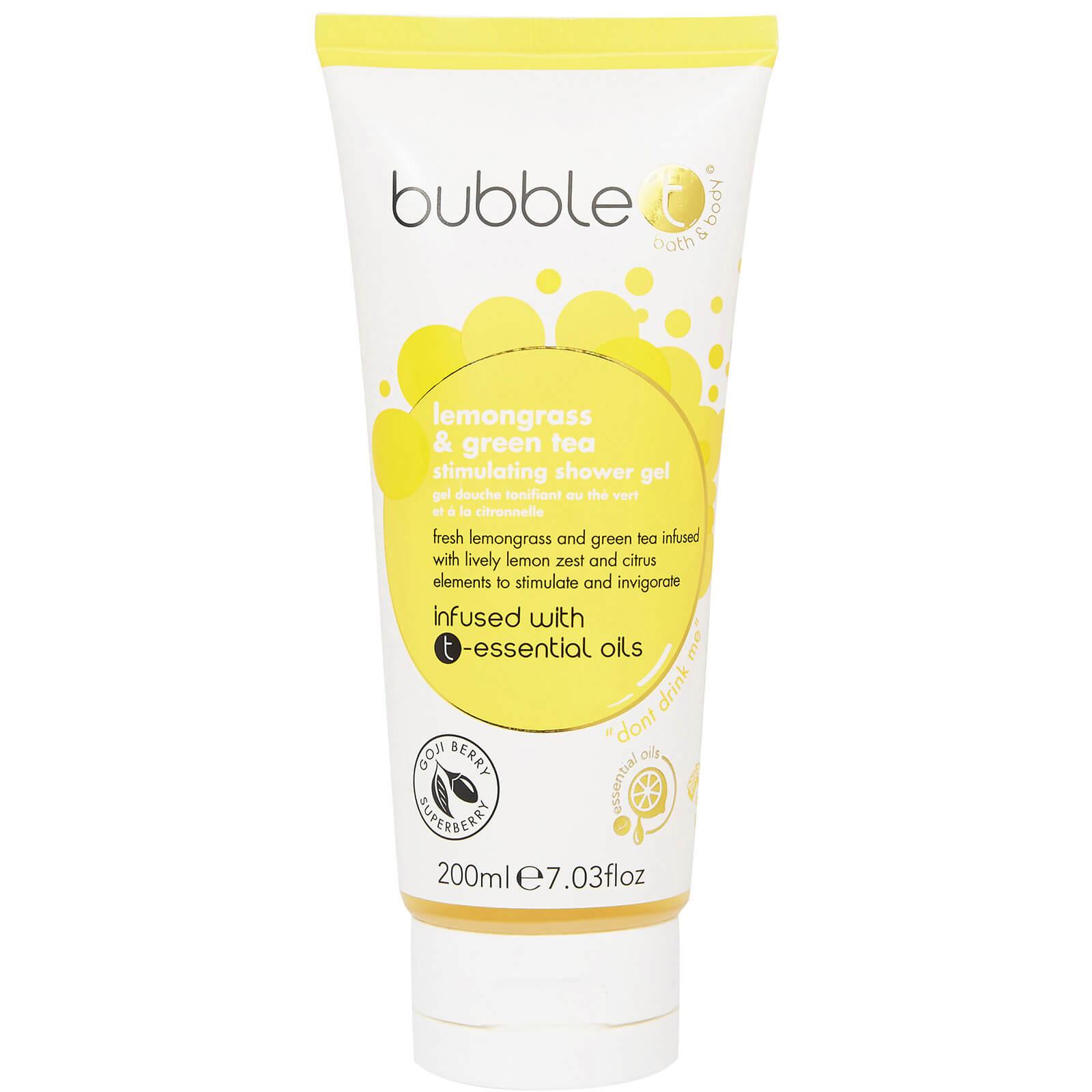 Купить Bubble T Shower Gel - Lemongrass & Green Tea 200 мл