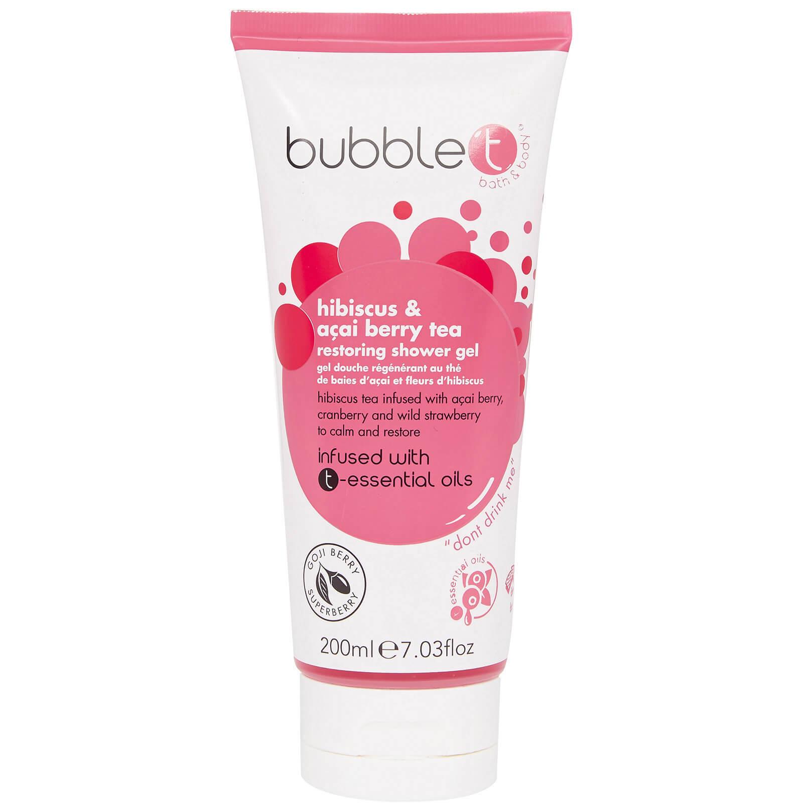 Купить Bubble T Shower Gel - Hibiscus & Acai Berry Tea 200 мл