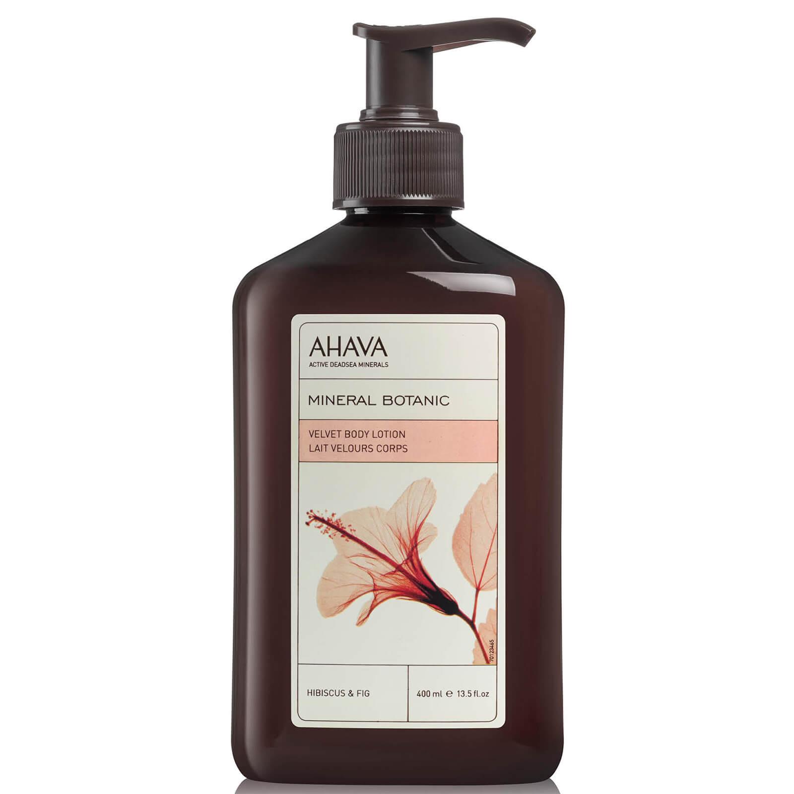 Купить Мягкое масло для тела с минералами и травами AHAVA Mineral Botanic Velvet Body Butter — Hibiscus and Fig