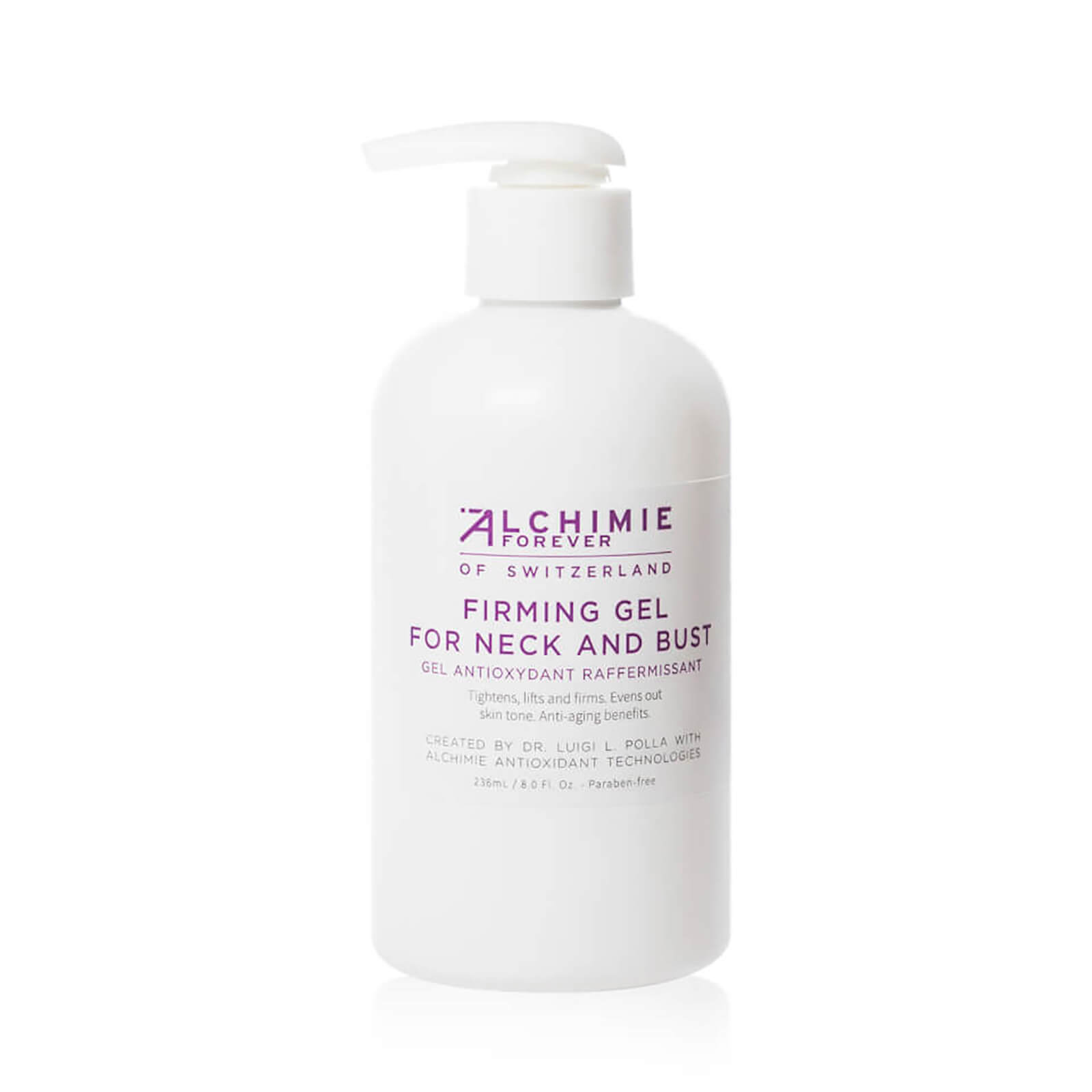 Watch a story about ALCHIMIE FOREVER FIRMING GEL FOR NECK AND BUST