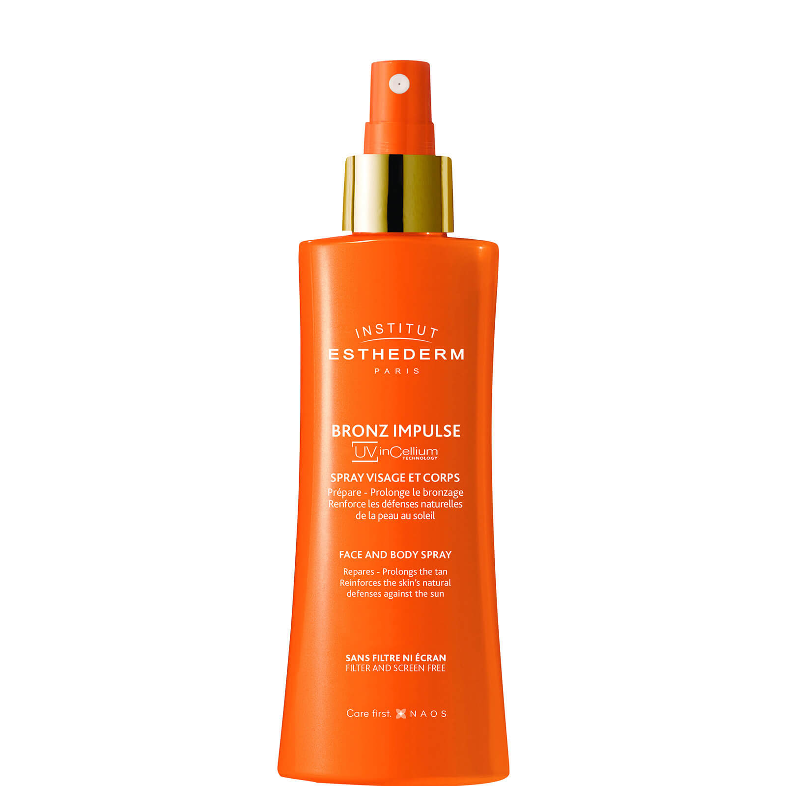 Купить Institut Esthederm Bronz Impulse Face And Body Spray Спрей для лица и тела150мл