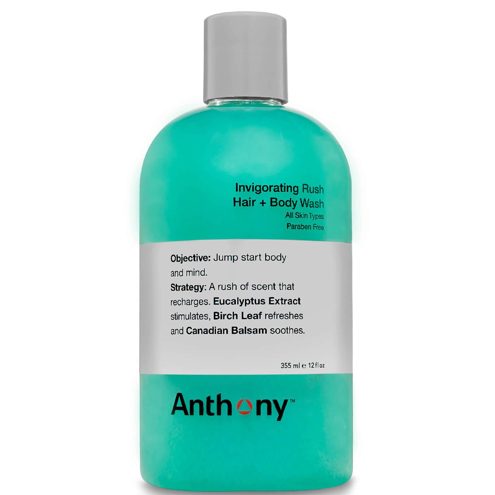 Купить Anthony Invigorating Rush Hair & Body WashТонизирующий гель для волос и тела 355мл