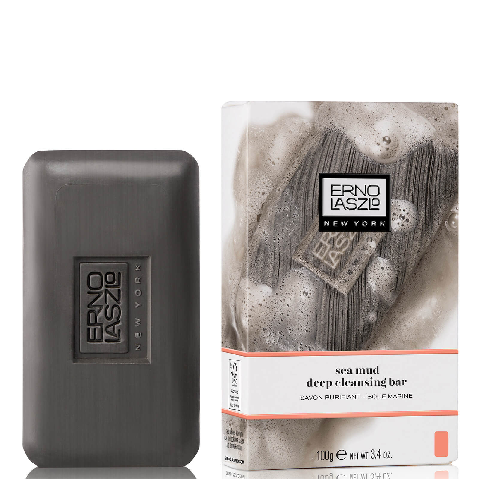 Watch a story about ERNO LASZLO SEA MUD DEEP CLEANSING BAR (100G)