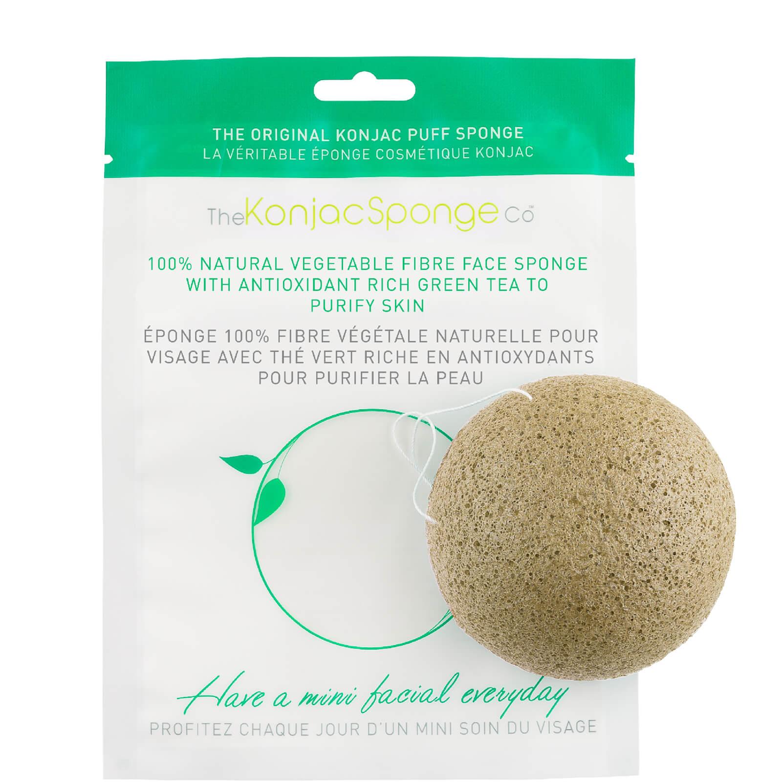 Купить Спонж конняку для лица с зеленым чаем Konjac Sponge Company Facial Puff Sponge with Green Tea