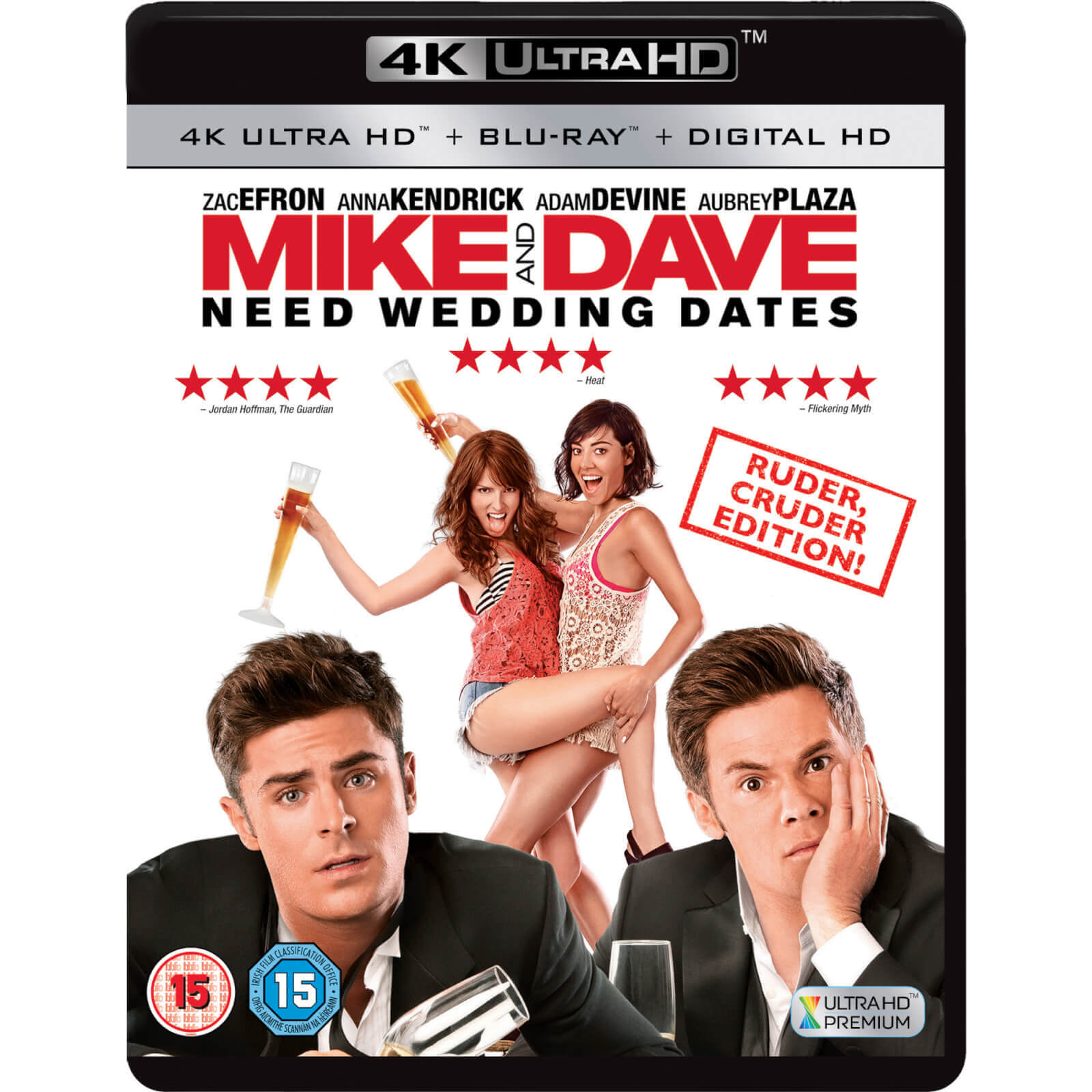 Mike and Dave Need Wedding Dates - 4K Ultra HD