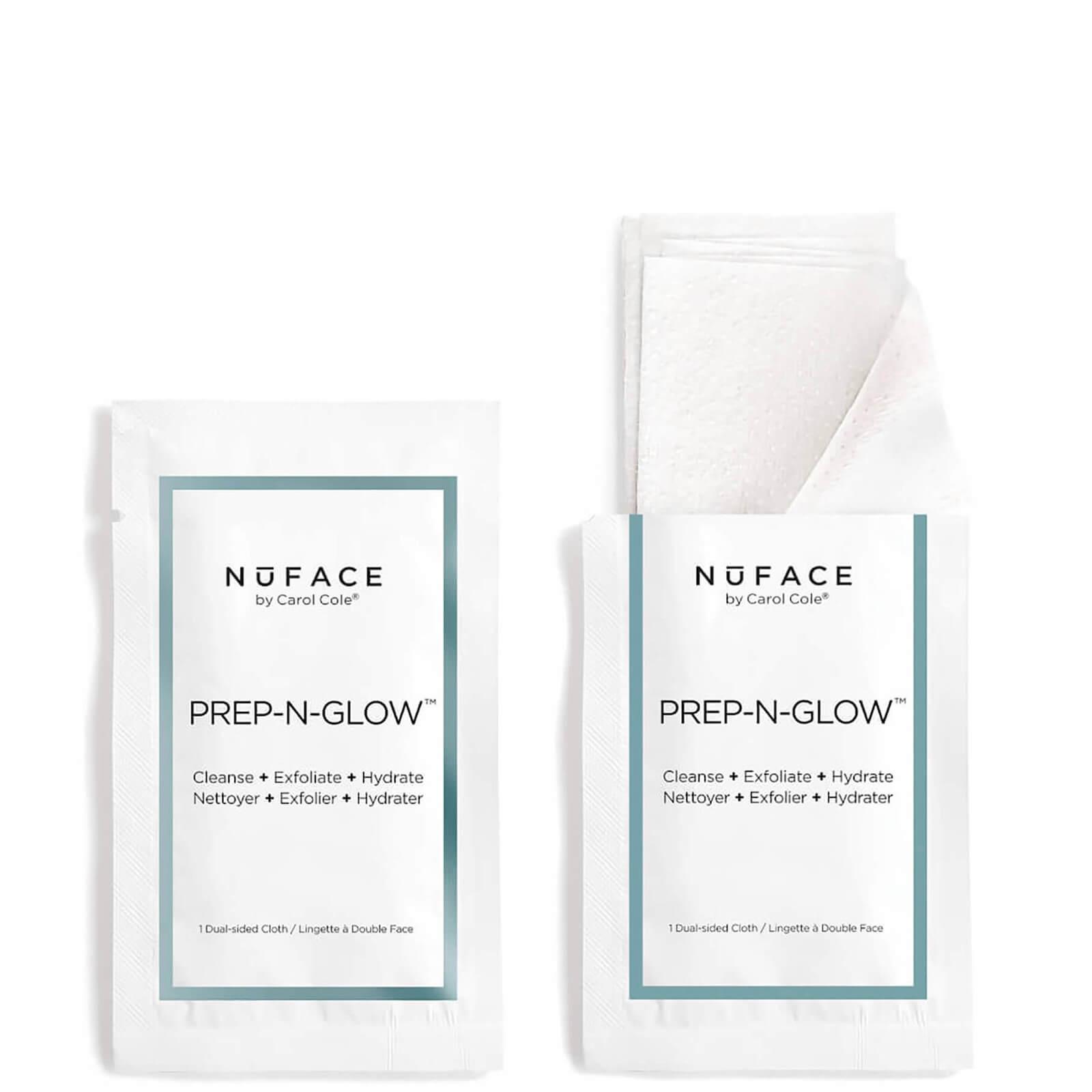 Купить Салфетки для очищения, отшелушивания и увлажнения кожи NuFACE Prep-N-Glow Cloths