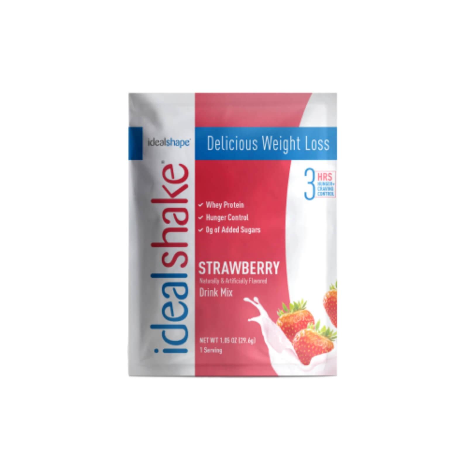 idealshake strawberry sample