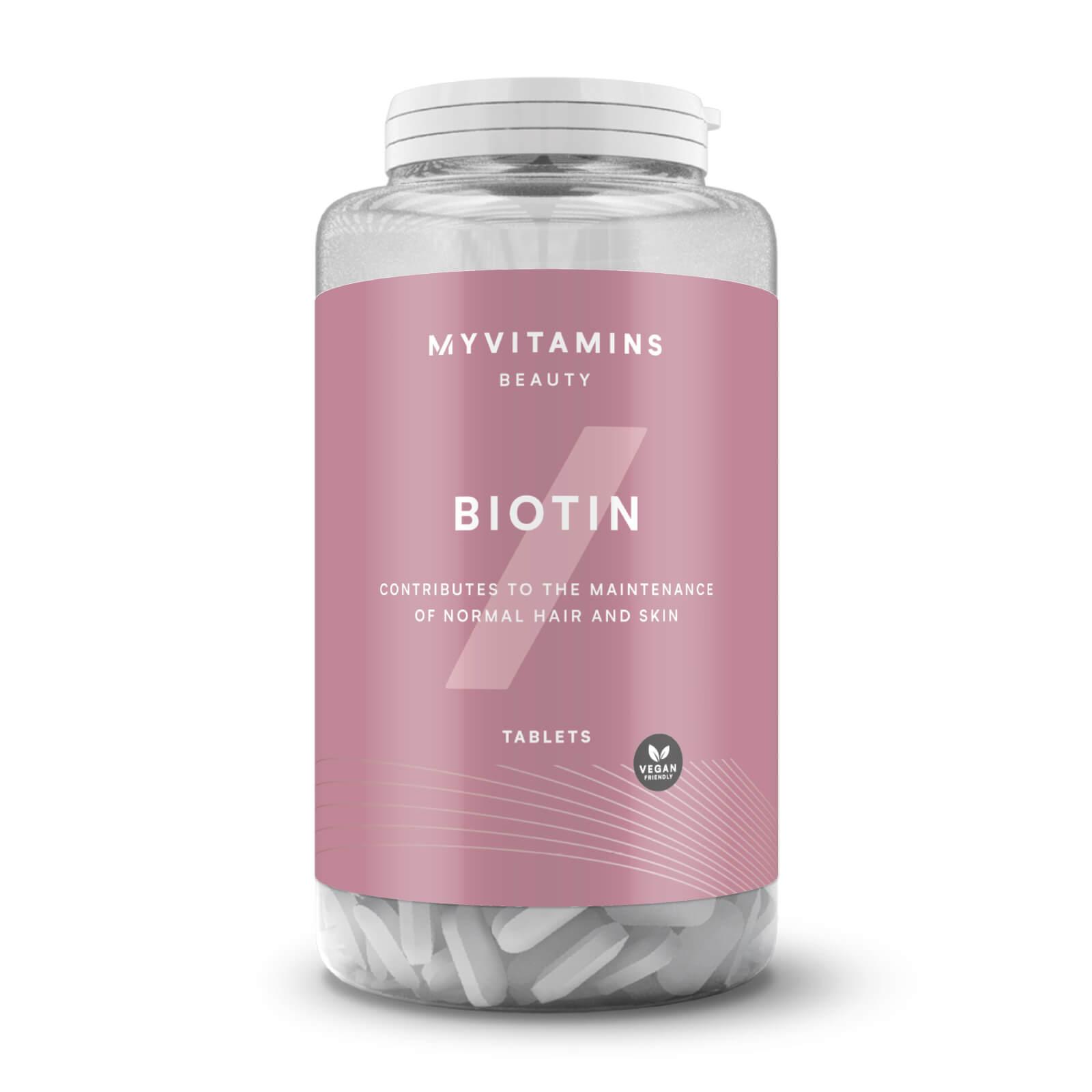 Biotin - 90Tablets