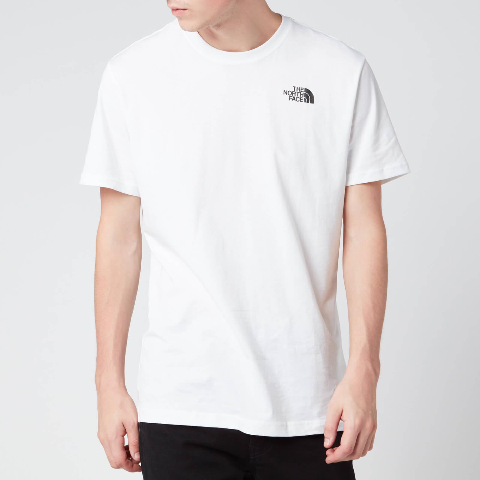 The North Face Men's Redbox Celebration Short Sleeve T-Shirt - TNF White