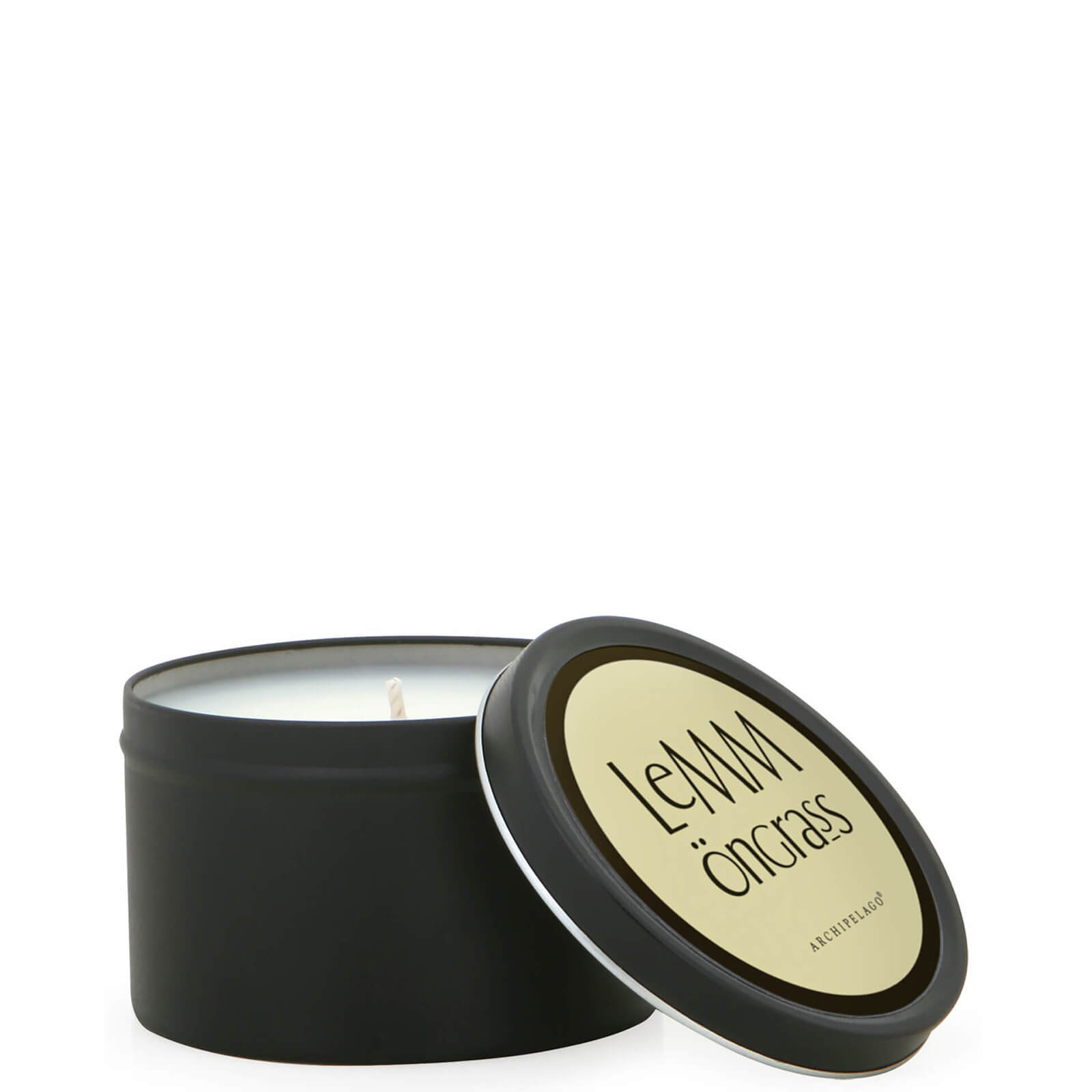 Купить Декоративная ароматическая свеча «Лемонграсс»в жестяной баночке Archipelago Botanicals Home Tin Lemongrass Candle 162г
