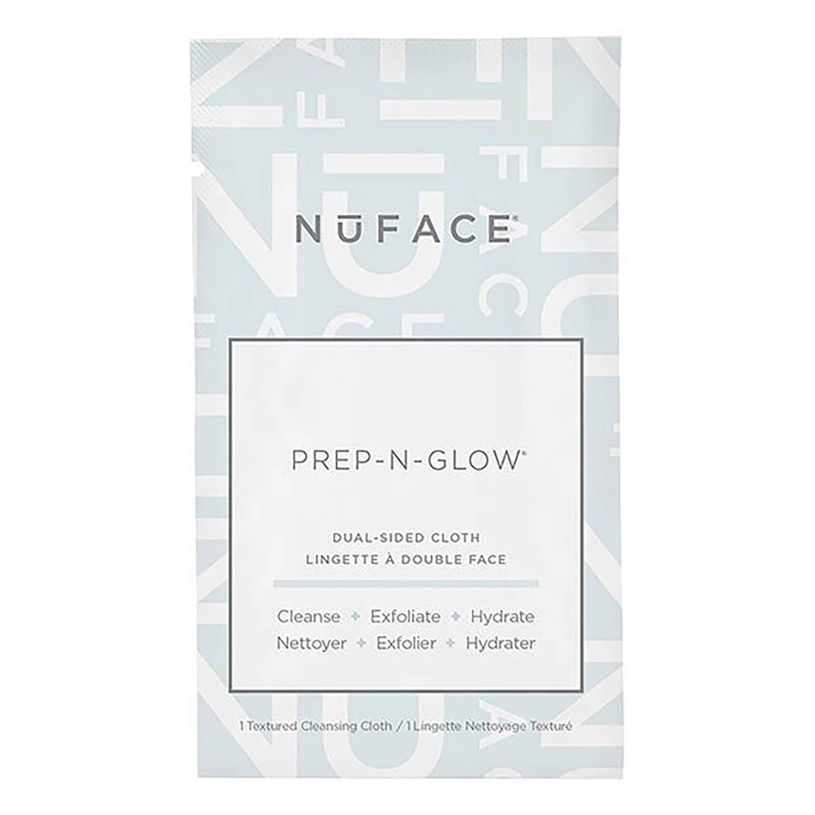 Купить Салфетки для очищения, отшелушивания и увлажнения кожи NuFACE Prep-N-Glow Cloths (5 салфеток в упаковке)