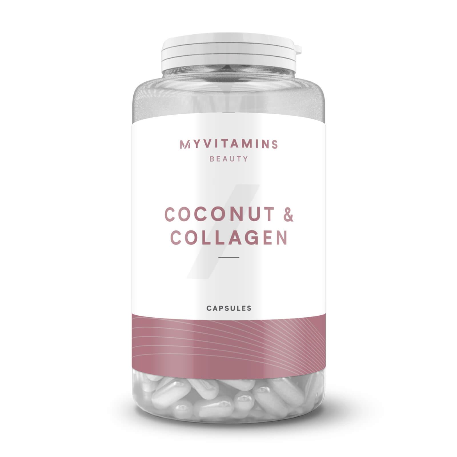 Coconut & Collagen Capsules - 60Capsules