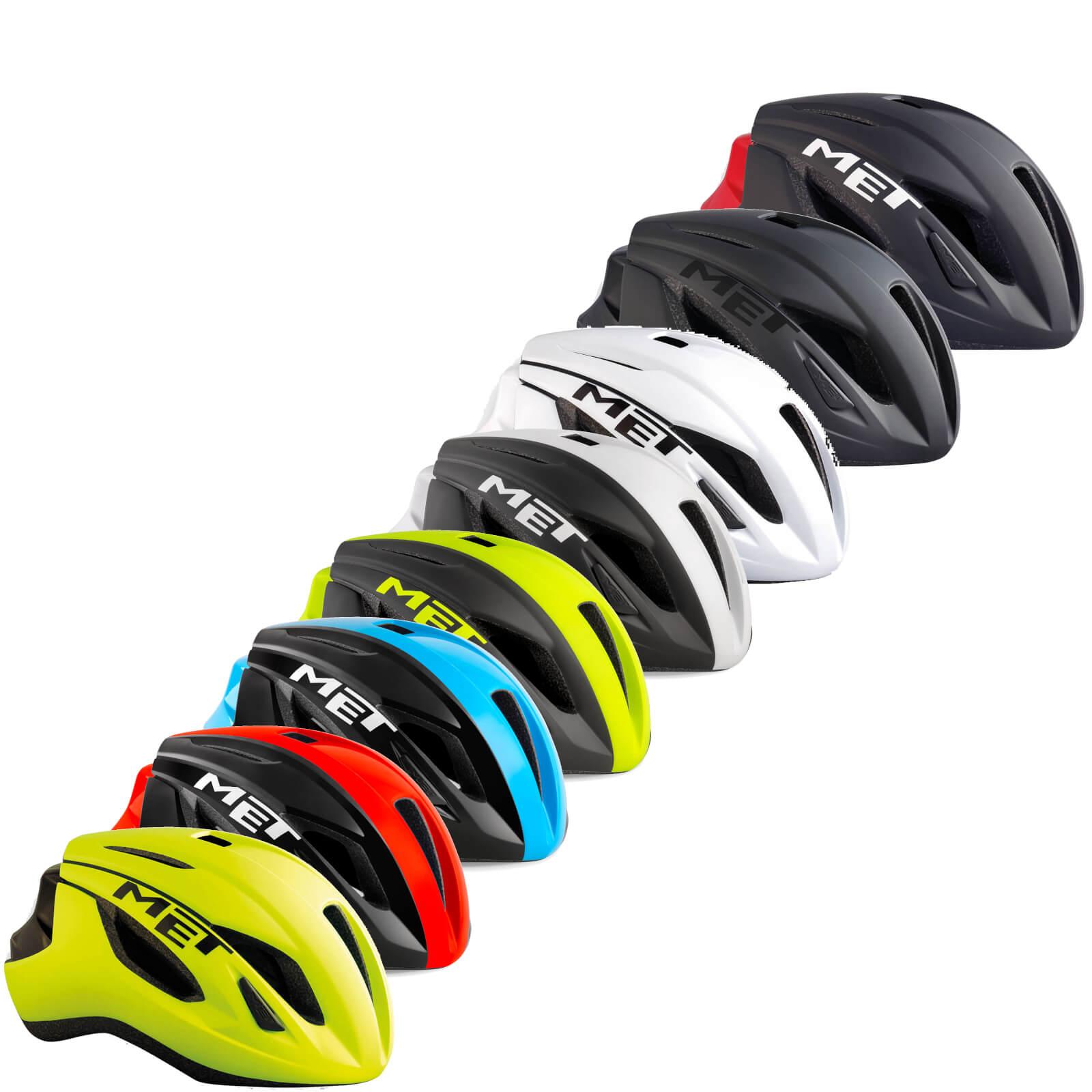 Met Strale Road Helmet - M/56-58cm - White Black