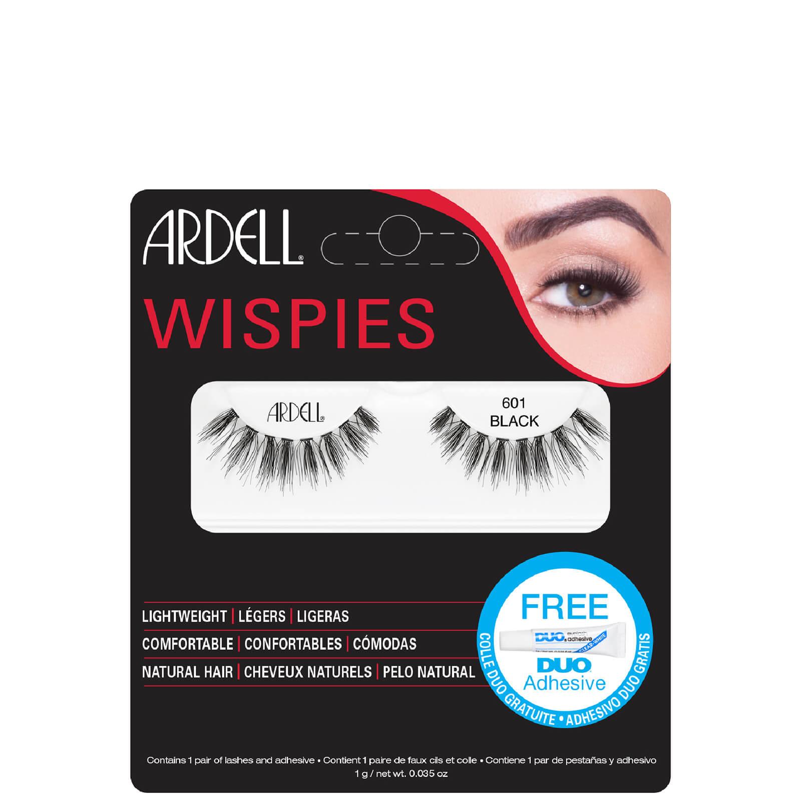 Накладные ресницы (пучки) Ardell Wispies Cluster False Eyelashes - 601 Black  - Купить
