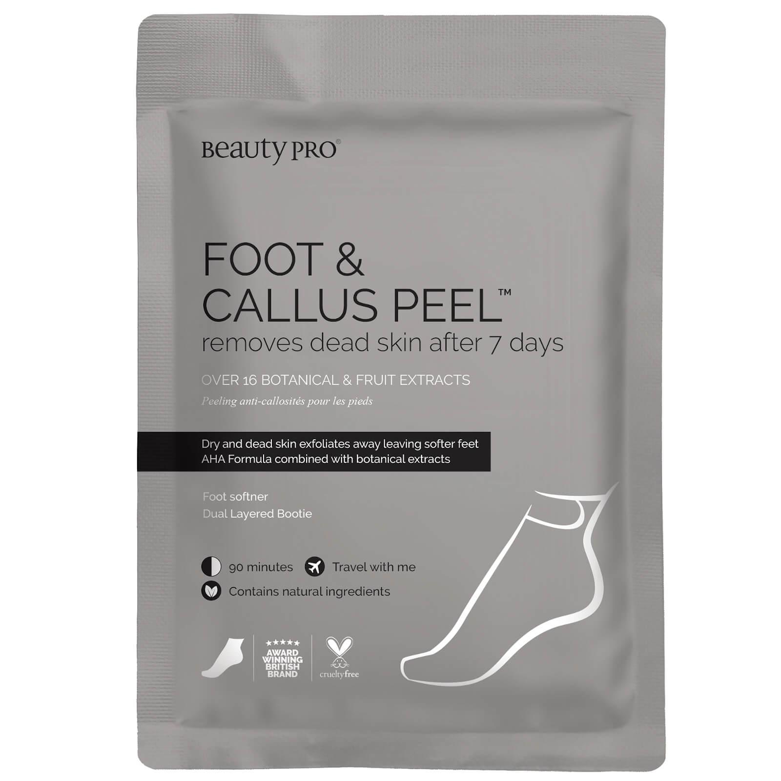 Купить Пилинг для стоп с экстрактами 17 растений BeautyPro Foot and Callus Peel with over 17 Botanical and Fruit Extracts (1 пара)