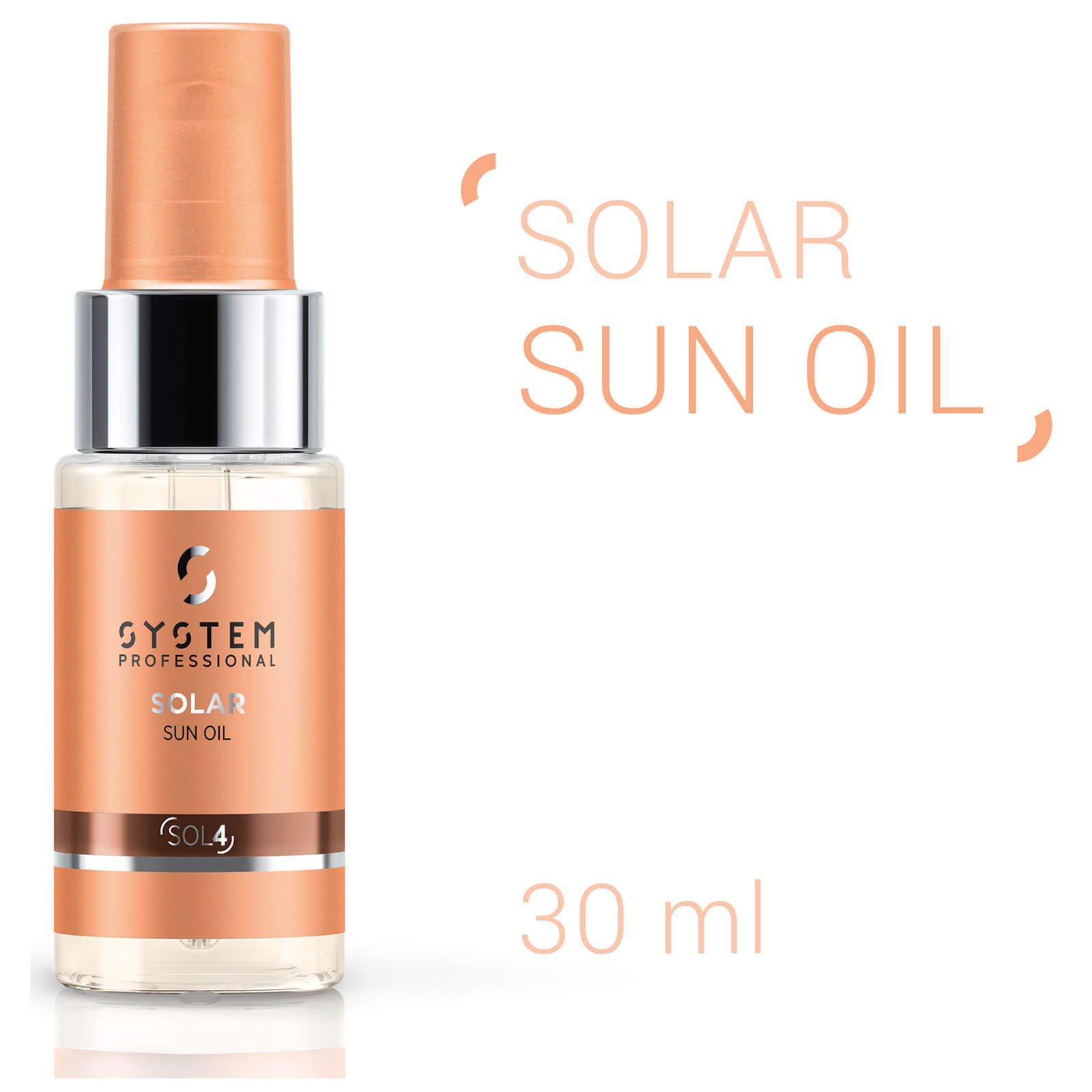 System Professional Solar Sun Oil 30ml