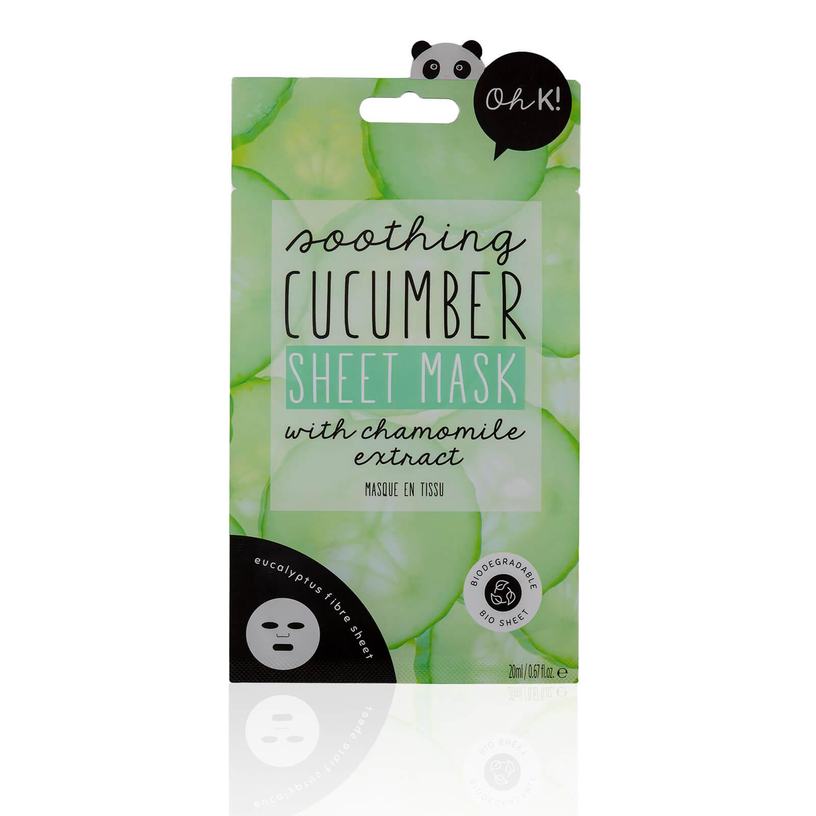Купить Тканевая маска для лица с экстрактом огурца Oh K! Cucumber Sheet Mask 23 мл