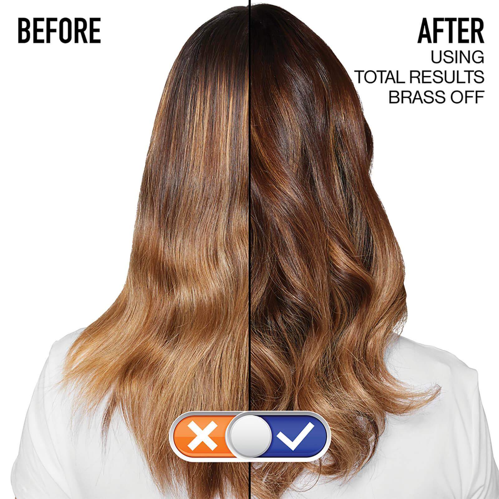 Matrix Total Results Brass Off Brunette Neutralising Blue Shampoo For Lightened Brunette H Cosmetics