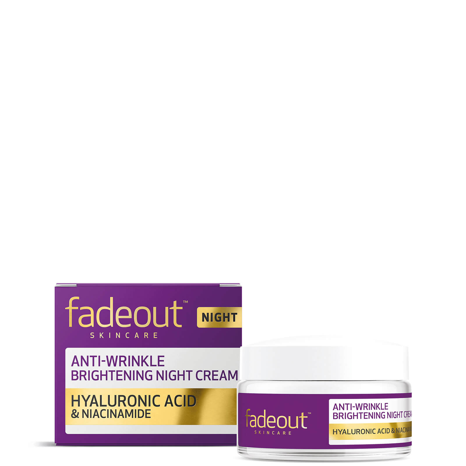 Купить Антивозрастной ночной крем для выравнивания тона кожи Fade Out ADVANCED + Age Protection Even Skin Tone Night Cream
