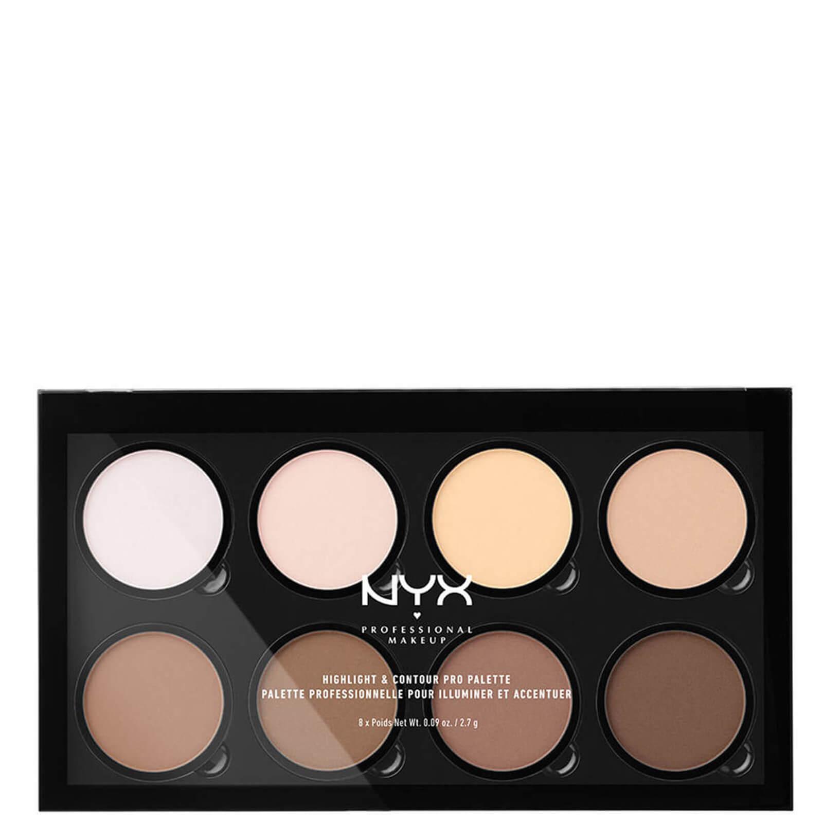 Купить Палетка для контурирования NYX Professional Makeup Highlight & Contour Pro Palette