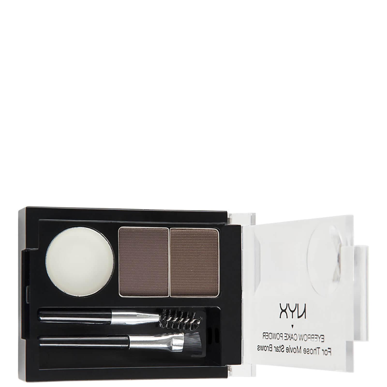 Купить NYX Professional Makeup Eyebrow Cake Powder - Dark Brown/ Brown
