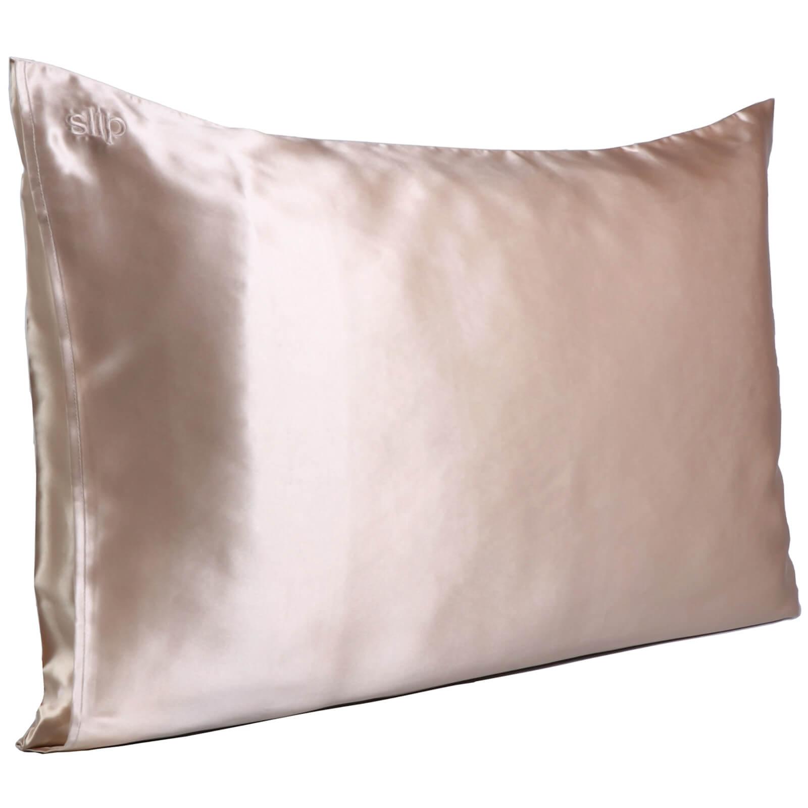 Slip Silk Pillowcase - Queen (Various Colours) - Caramel