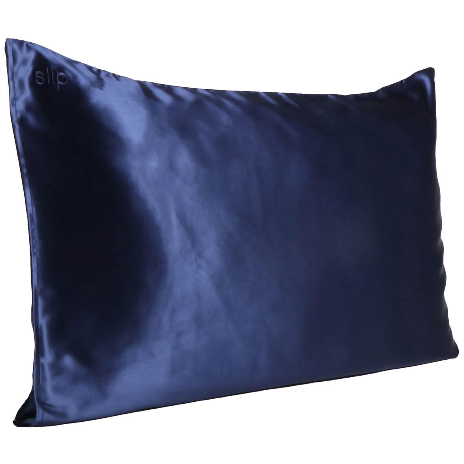 Slip Silk Pillowcase - Queen (Various Colors) - Navy
