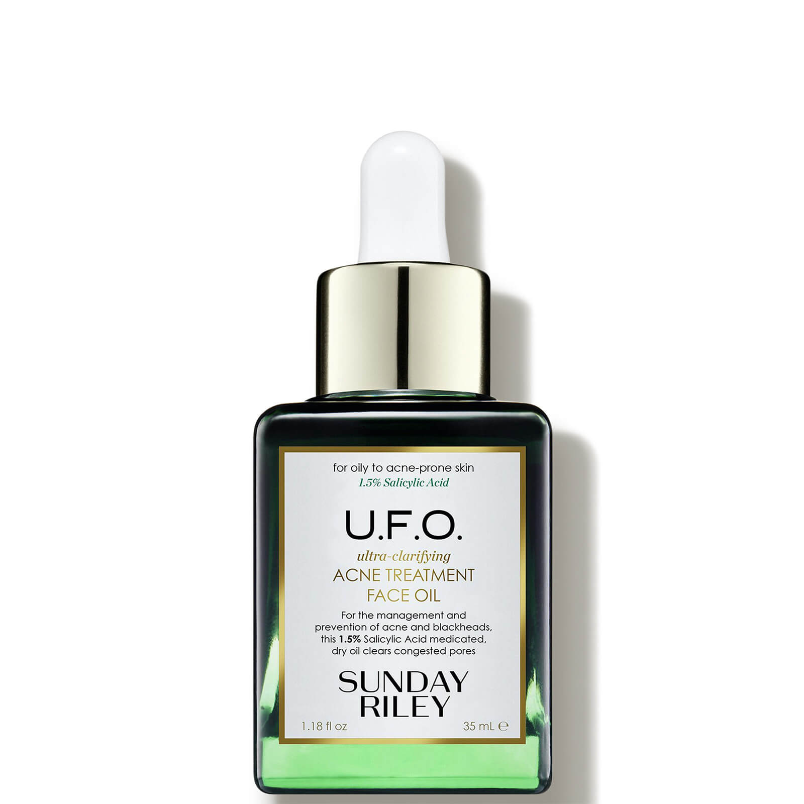 Watch a story about SUNDAY RILEY U.F.O. ULTRA-CLARIFYING FACE OIL 1.2OZ