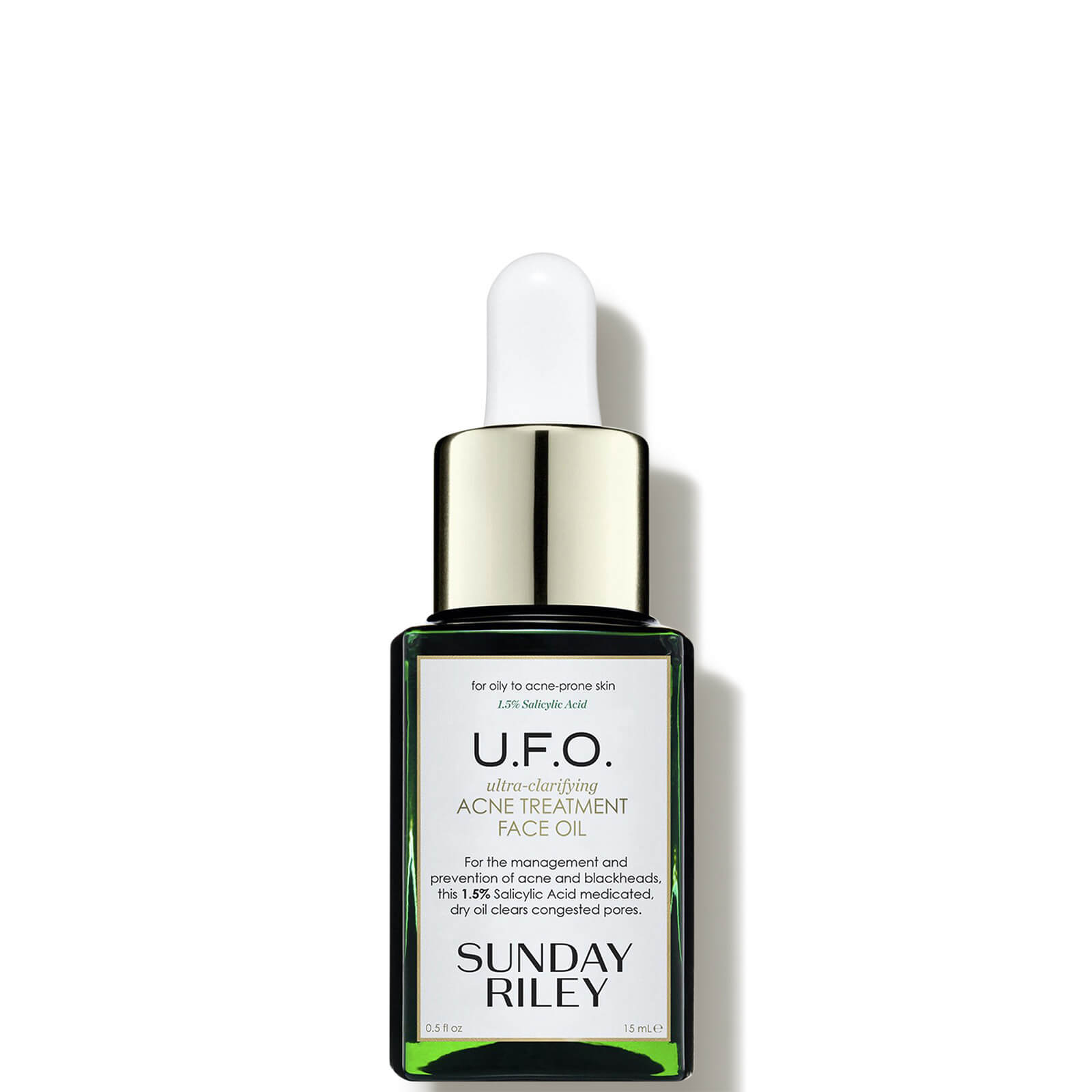 Watch a story about SUNDAY RILEY U.F.O. ULTRA-CLARIFYING FACE OIL 0.5OZ