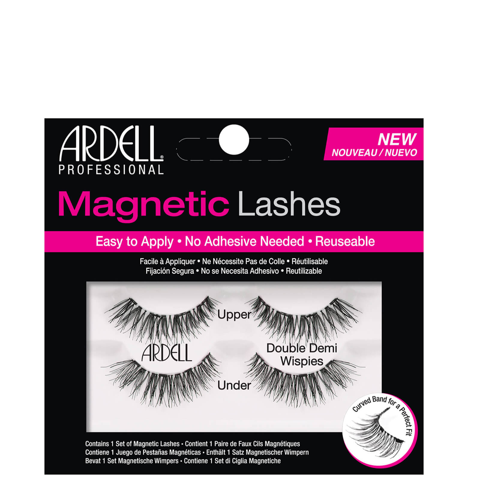 Купить Магнитные накладные ресницы Ardell Magnetic Lash Demi Wispies False Eyelashes