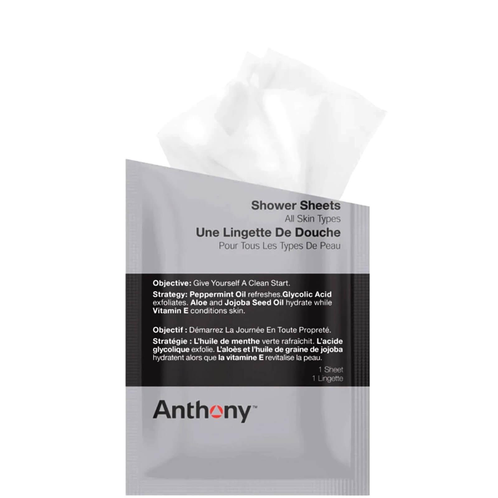 Купить Очищающие салфетки для тела Anthony Shower Sheets (12 салфеток)