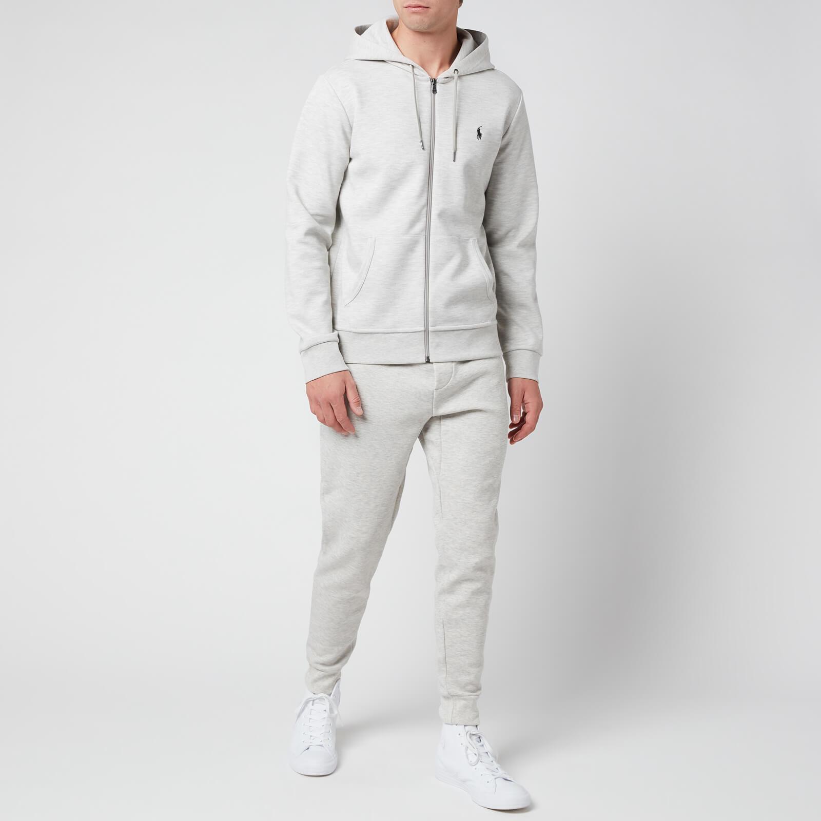 Polo Ralph Lauren Men's Double Knit Joggers - Sport Heather - M 710652314013 Mens Clothing, Grey