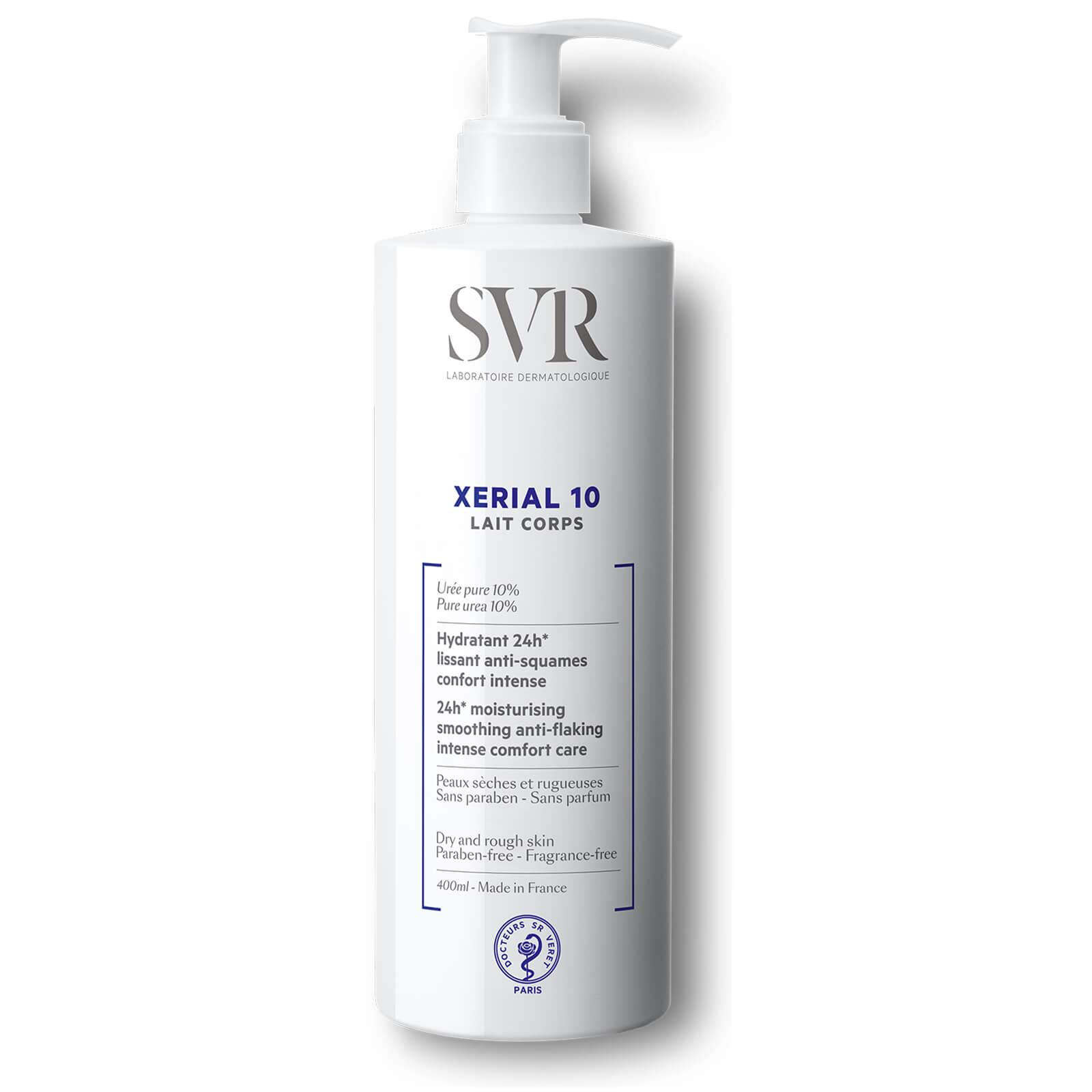 Купить Молочко для сухой и шелушащейся кожи тела SVR Laboratoires XERIAL 10 Lait Corps Body Milk 400 мл