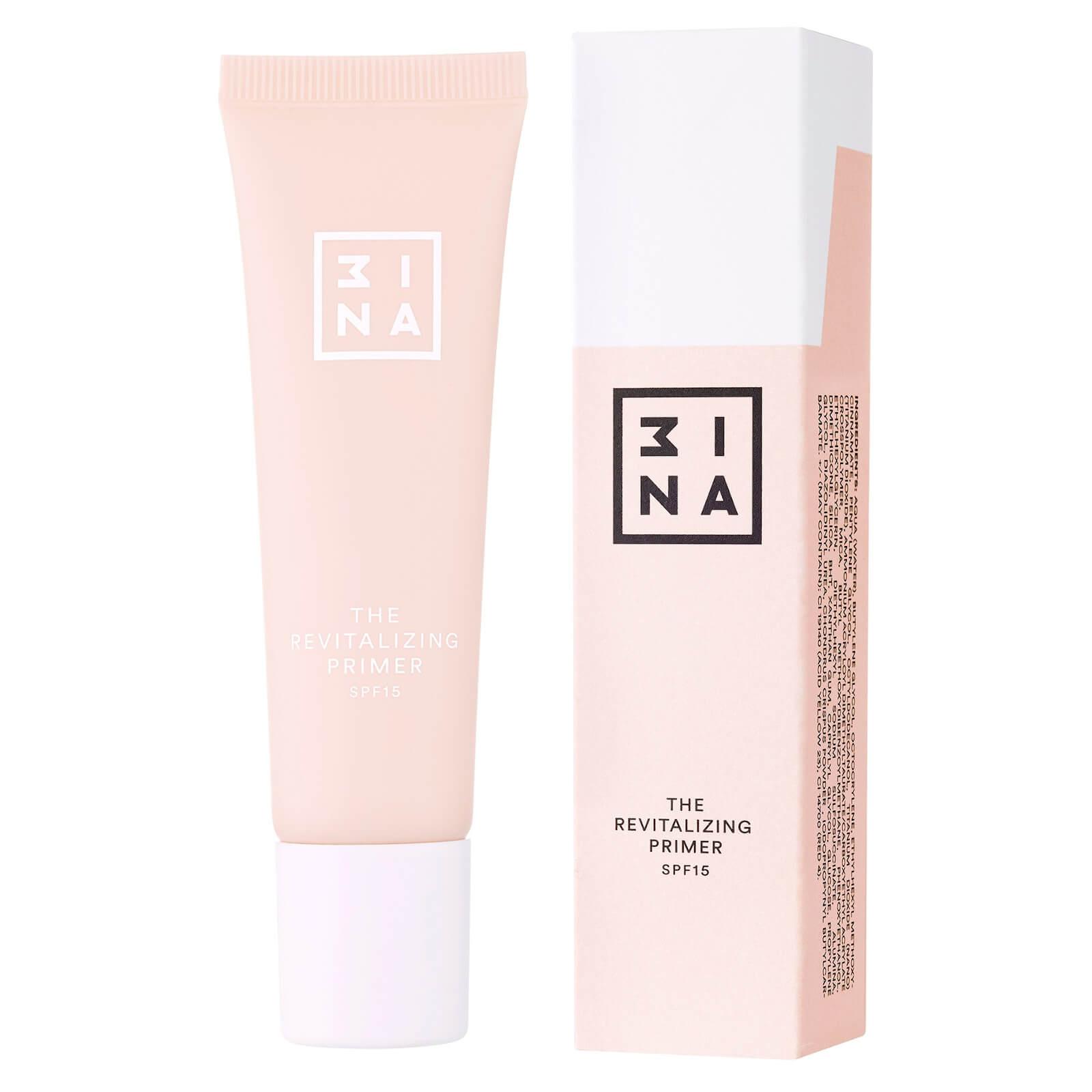 3INA Makeup primer viso rivitalizzante beige 30 ml
