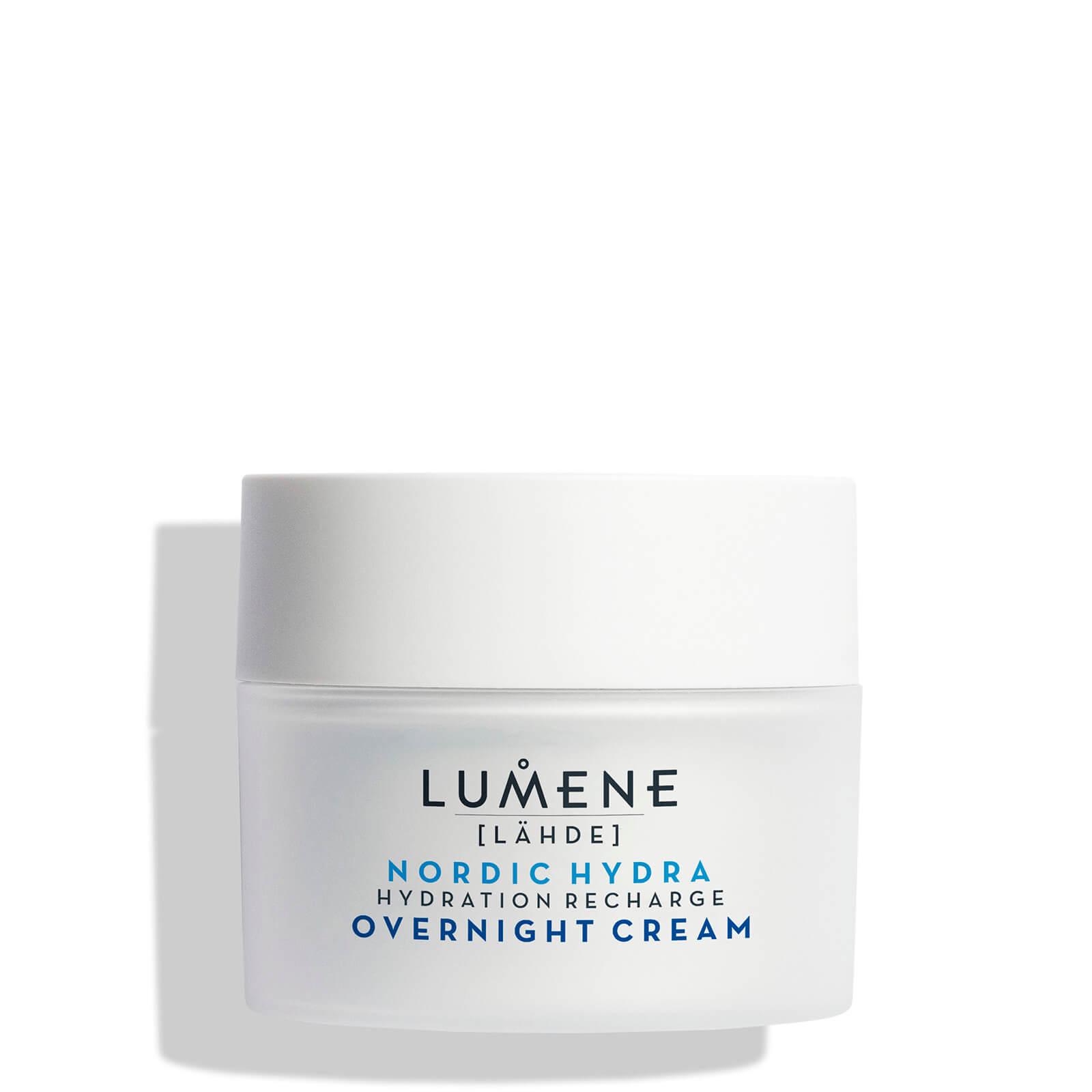 Купить Ночной увлажняющий восстанавливающий крем Lumene Nordic Hydra [Lähde] Hydration Recharge Overnight Cream 50 мл
