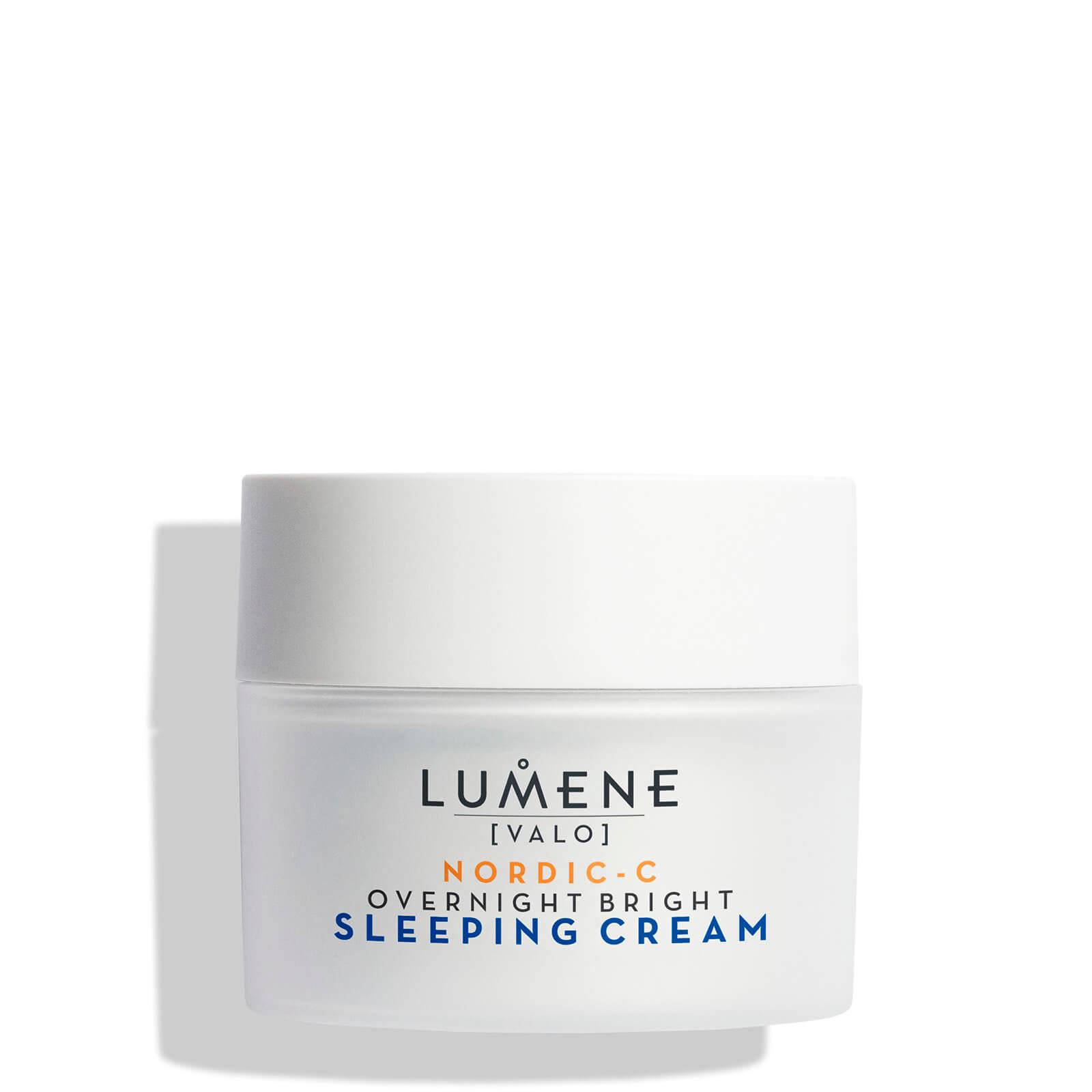Купить Восстанавливающий крем-сон Lumene Nordic C [Valo] Overnight Bright Sleeping Cream 50 мл