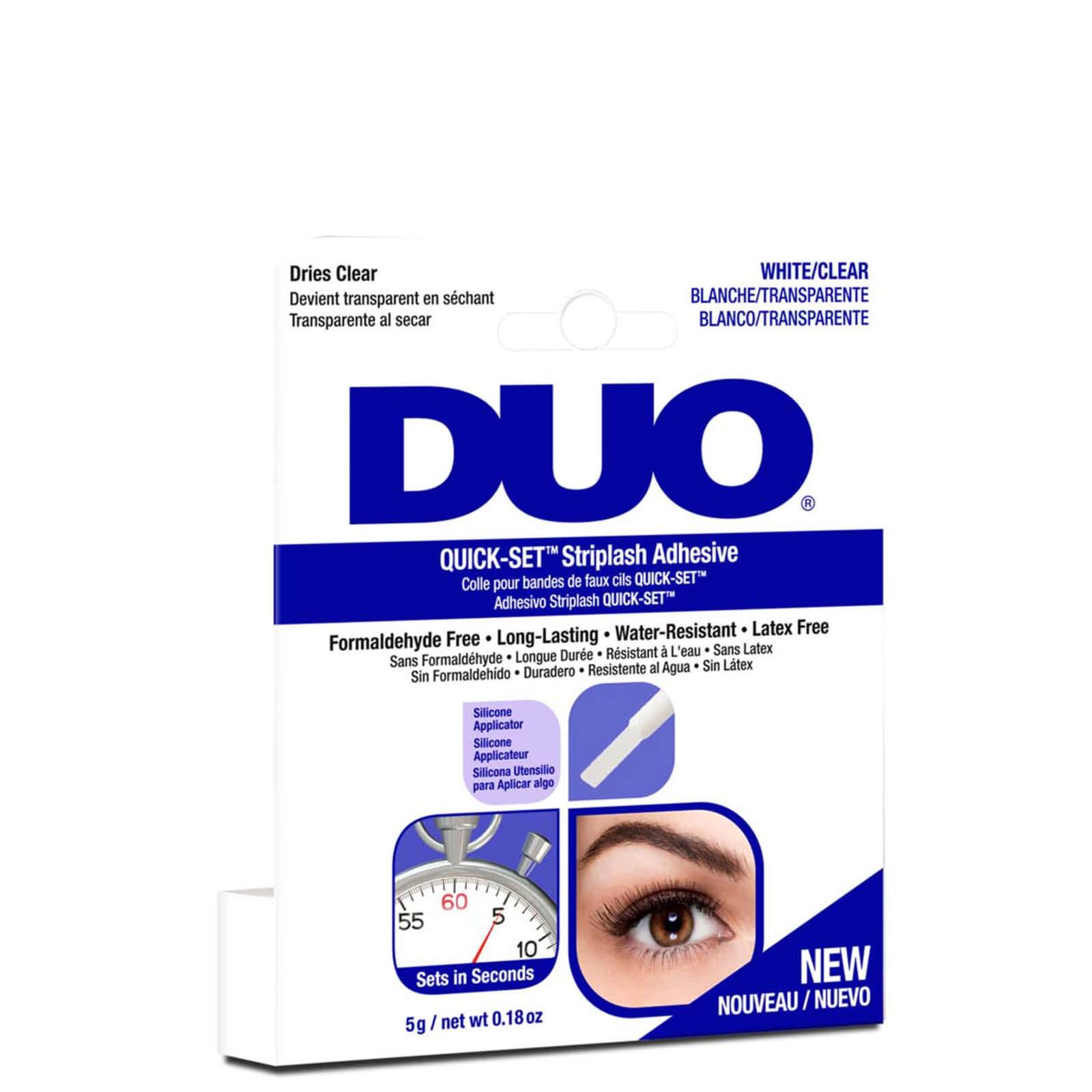 Быстросохнущий клей для накладных ресниц DUO Quick-Set Striplash Adhesive 5 г - Clear  - Купить