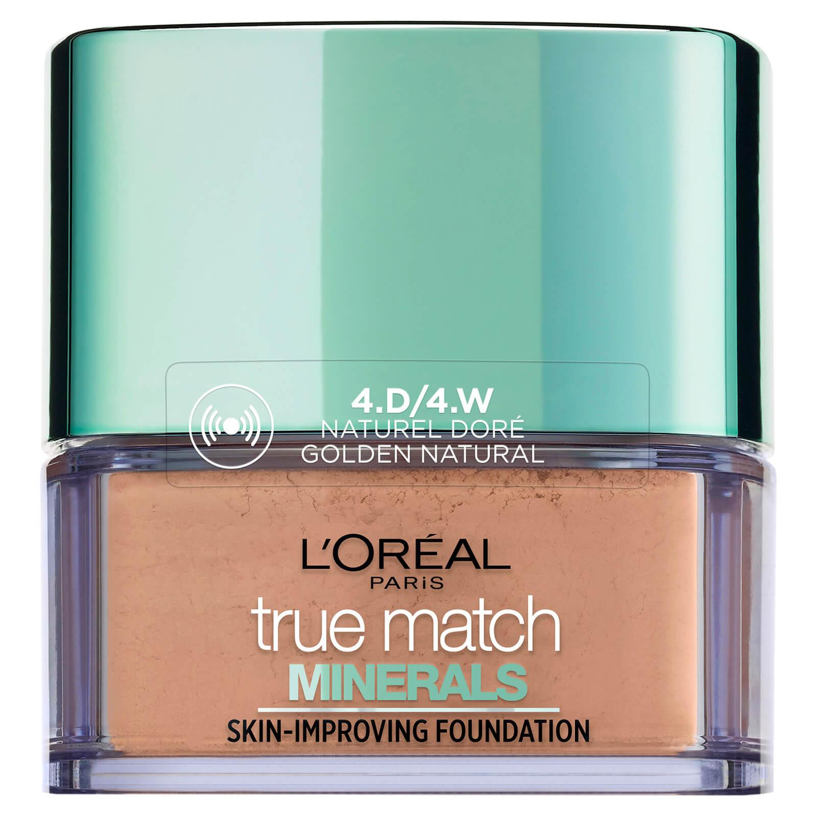 Купить L'Oréal Paris True Match Minerals Foundation 10g (Various Shades) - 4W Gold Natural
