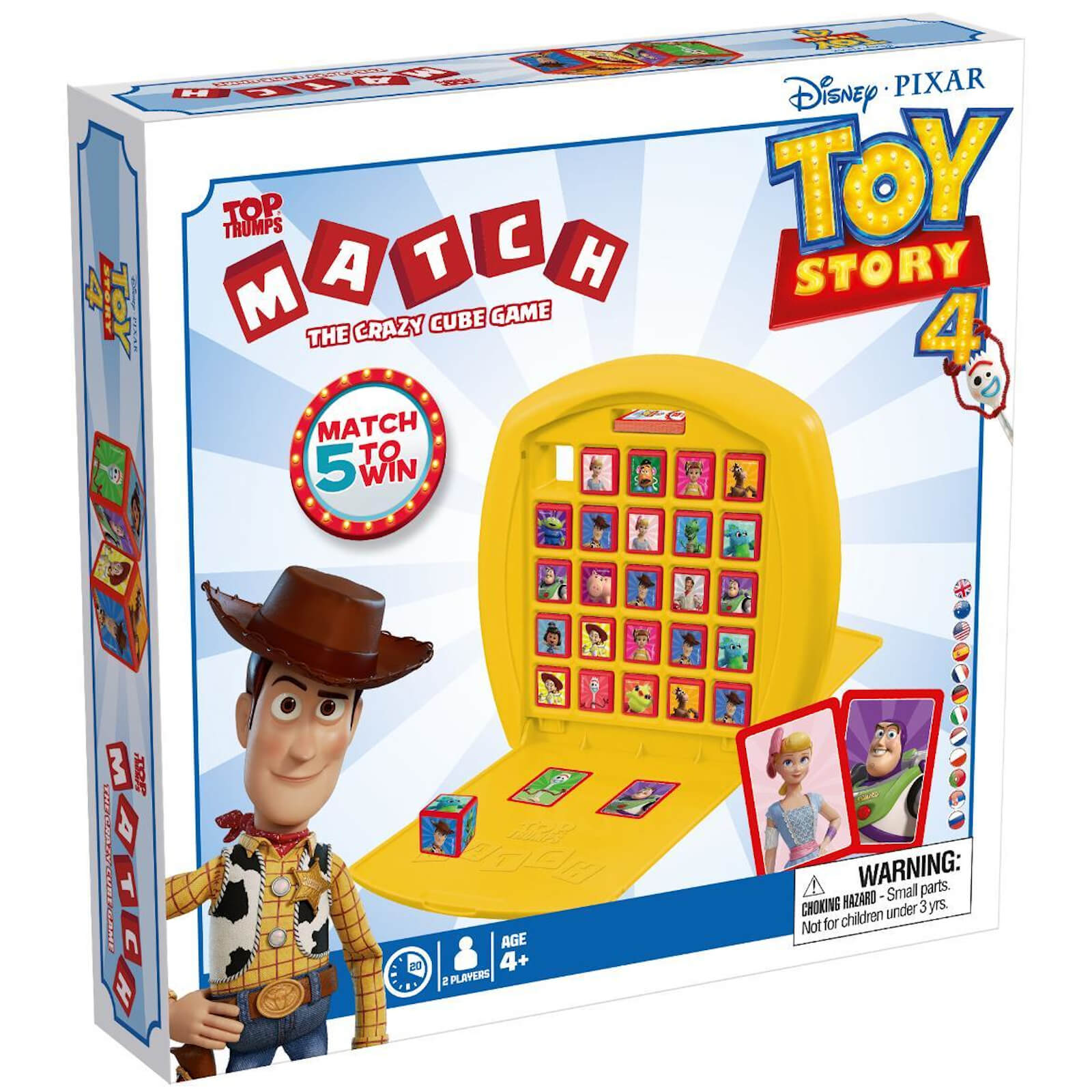 Image of Top Trumps Match Board Game - Toy Story 4 Edition
