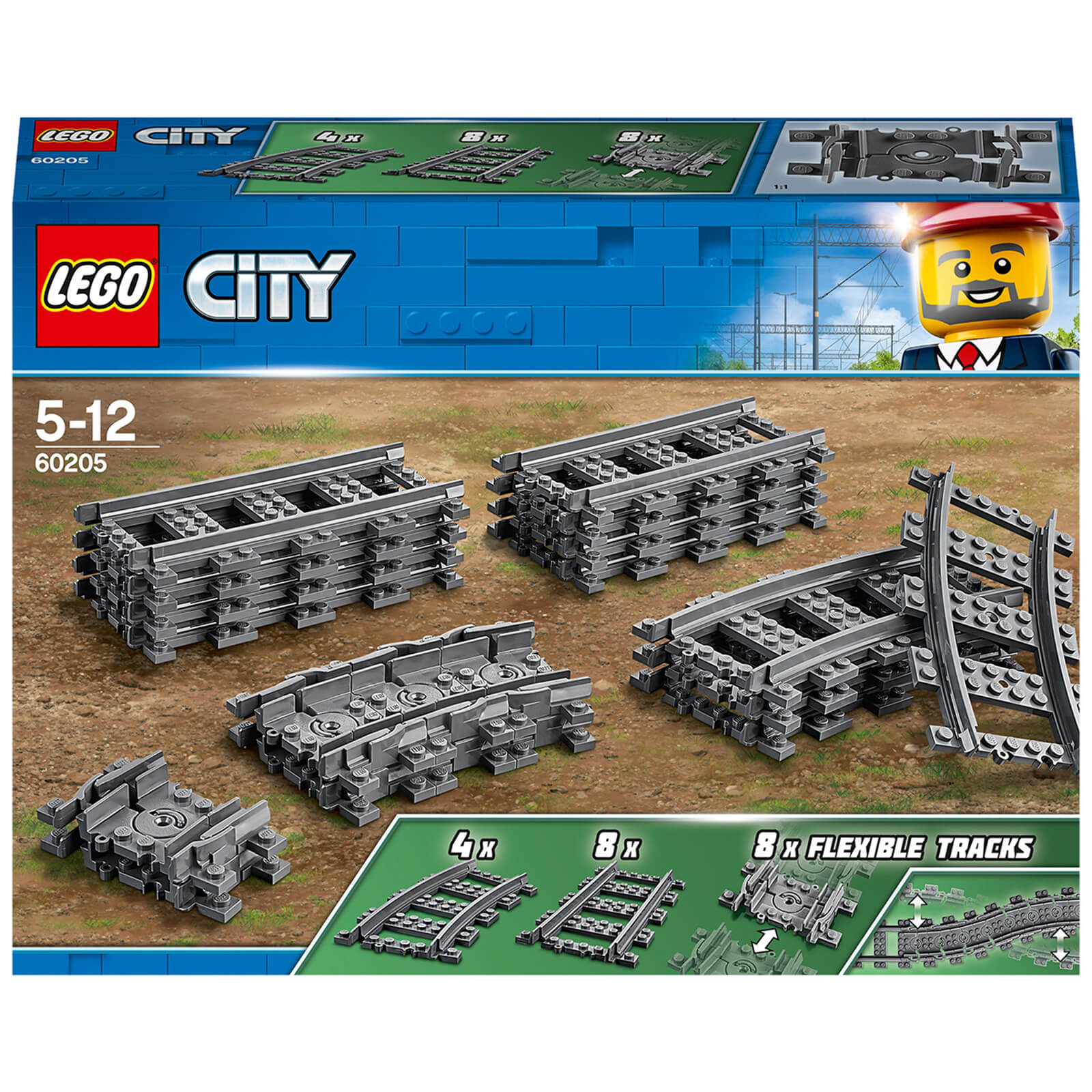 Image of LEGO City - Tracks