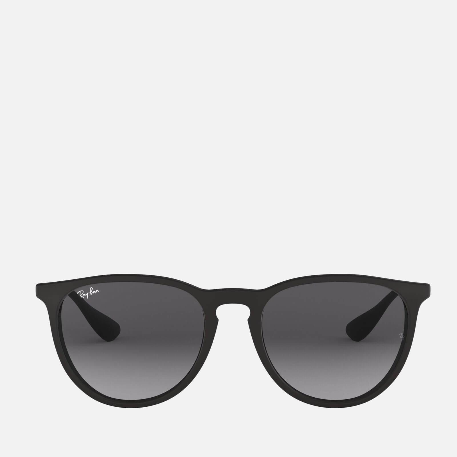 Ray-Ban Women's Erika Round Acetate Sunglasses - Black