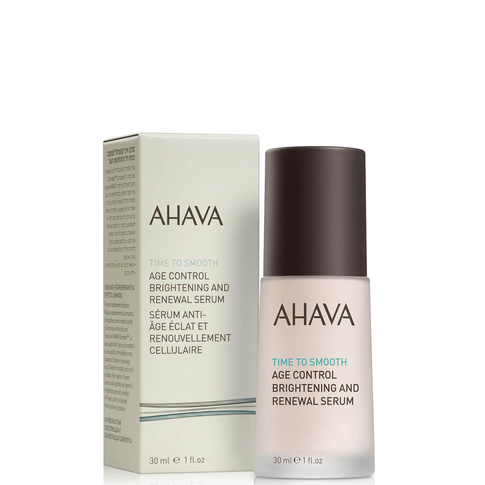 Купить Ночная восстанавливающая и выравнивающая тон кожи антивозрастная сыворотка AHAVA Age Control Brightening and Renewal Serum 30мл