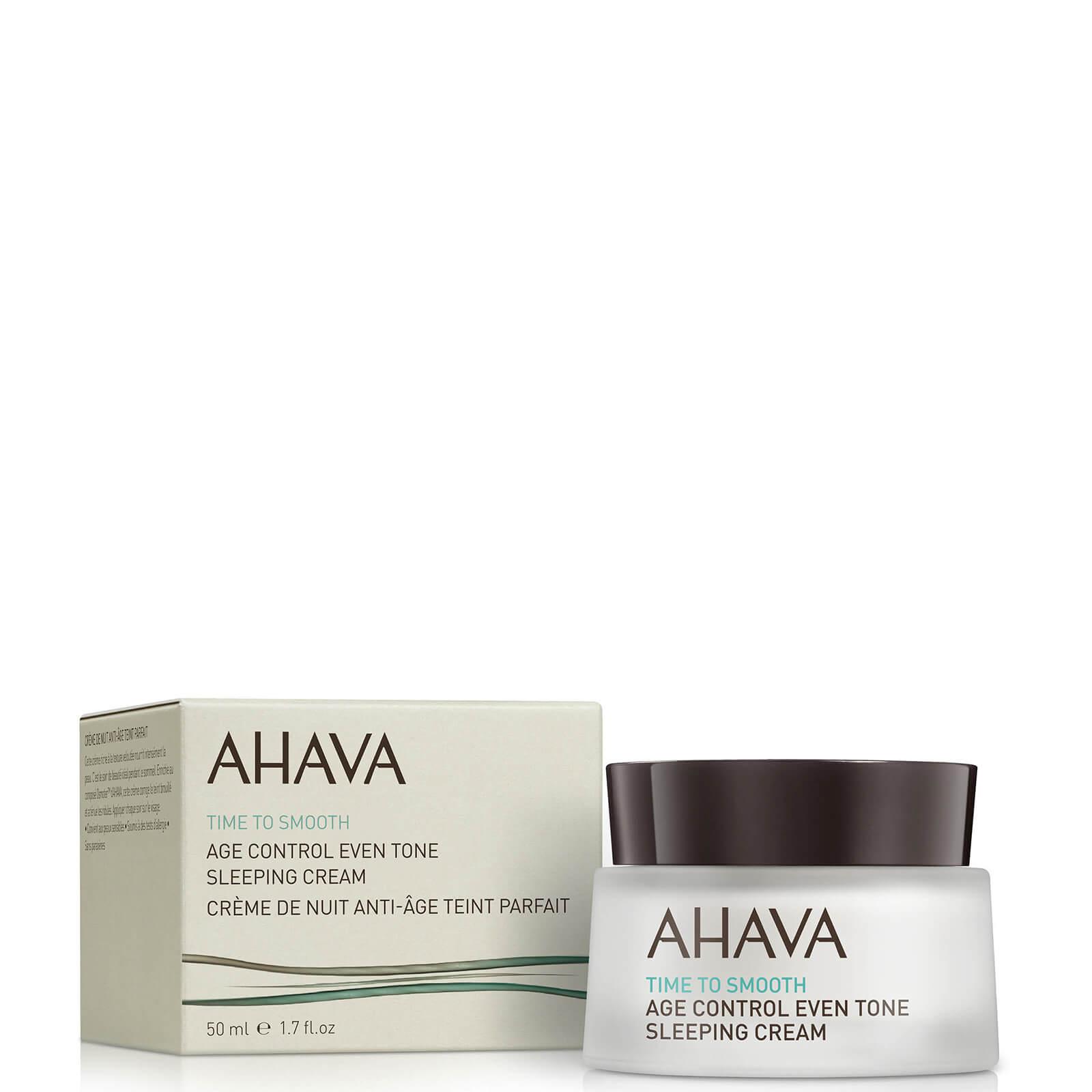 Купить Ночной антивозрастной, увлажняющий, выравнивающий тон кожи крем AHAVA Age Control Even Tone Sleeping Cream 50мл