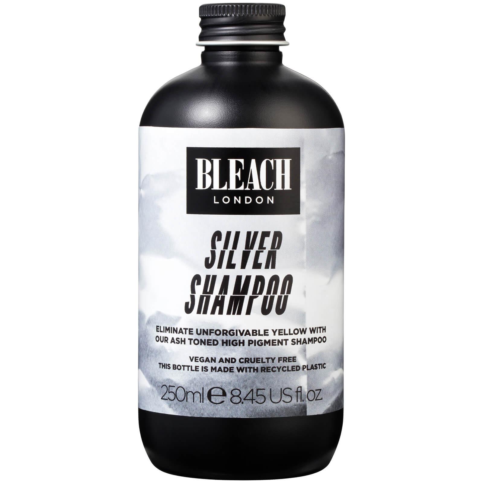 Купить Оттеночный шампунь BLEACH LONDON Silver Shampoo 250 мл