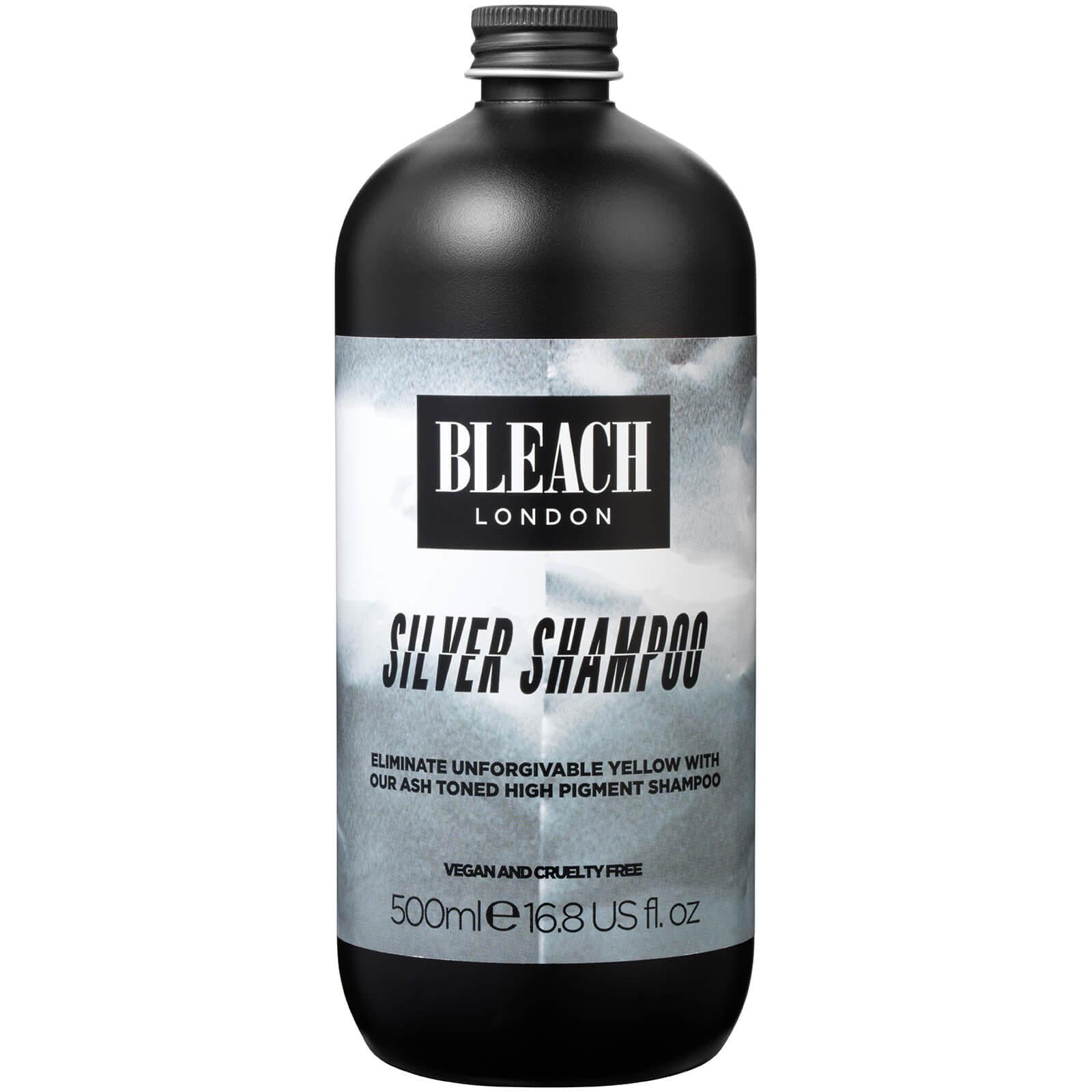 Оттеночный шампунь BLEACH LONDON Silver Shampoo 500 мл  - Купить