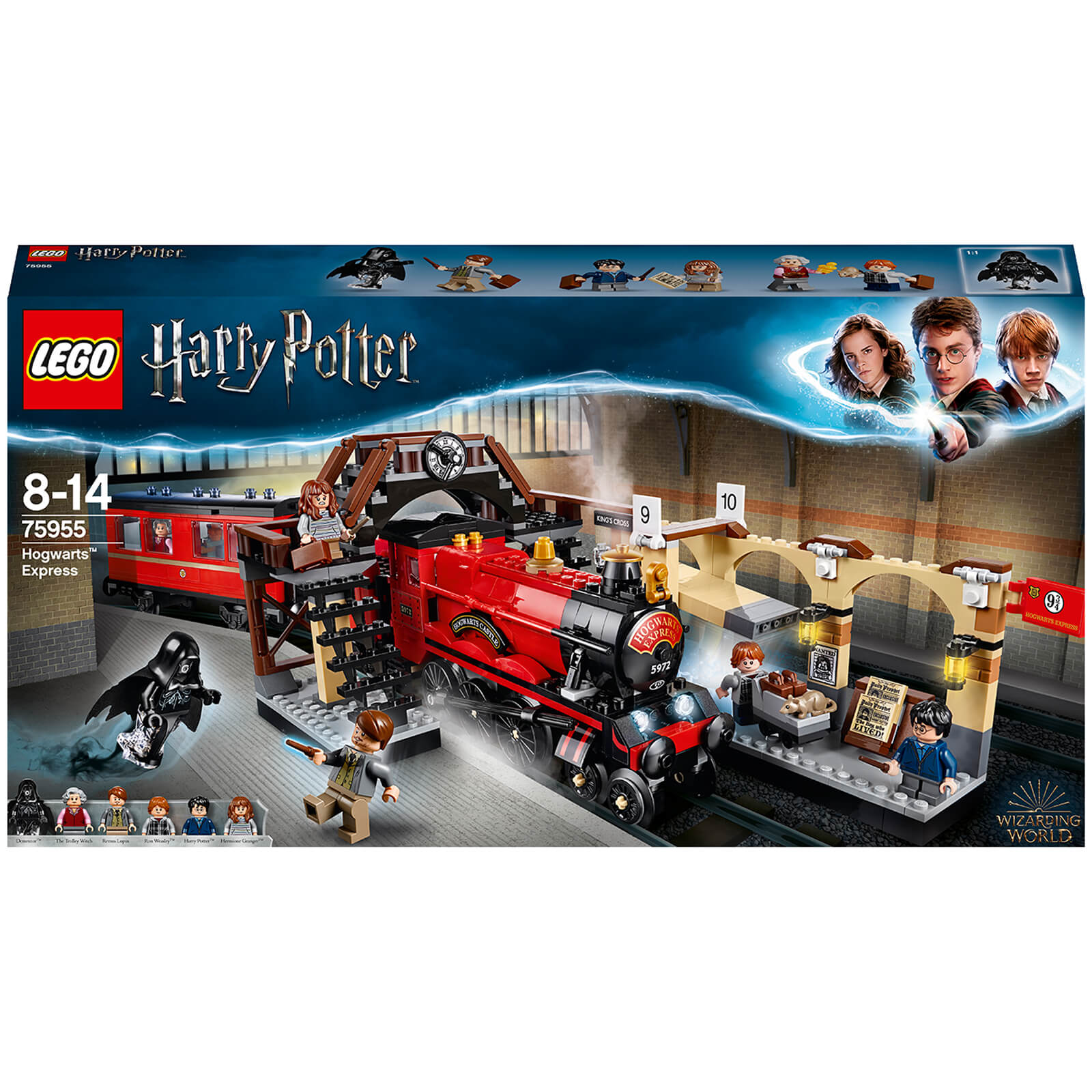 LEGO Harry Potter: Hogwarts Express Train Toy (75955)